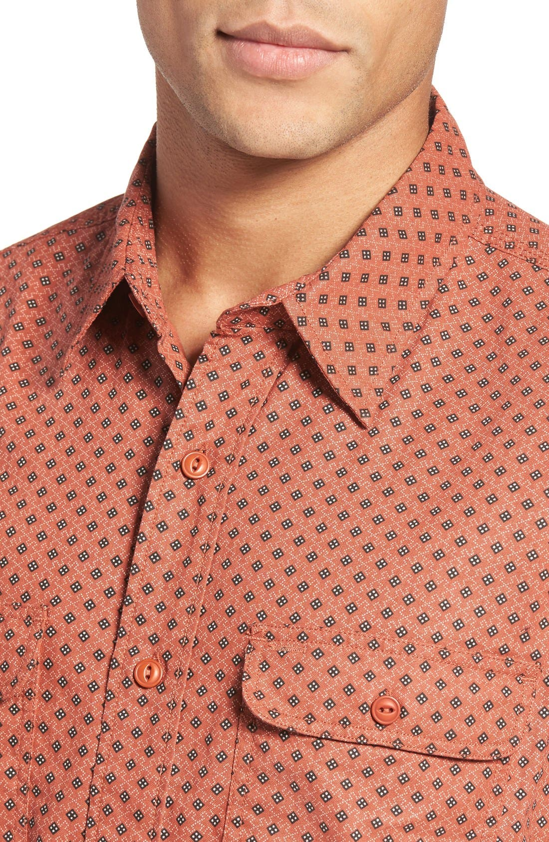 Alternate Image 4  - Schott NYC Print Sport Shirt