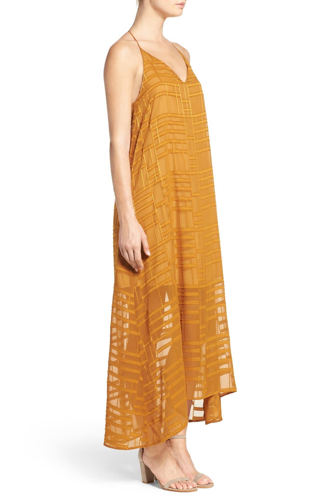 Alternate Image 3  - NSR Embroidered Maxi Dress