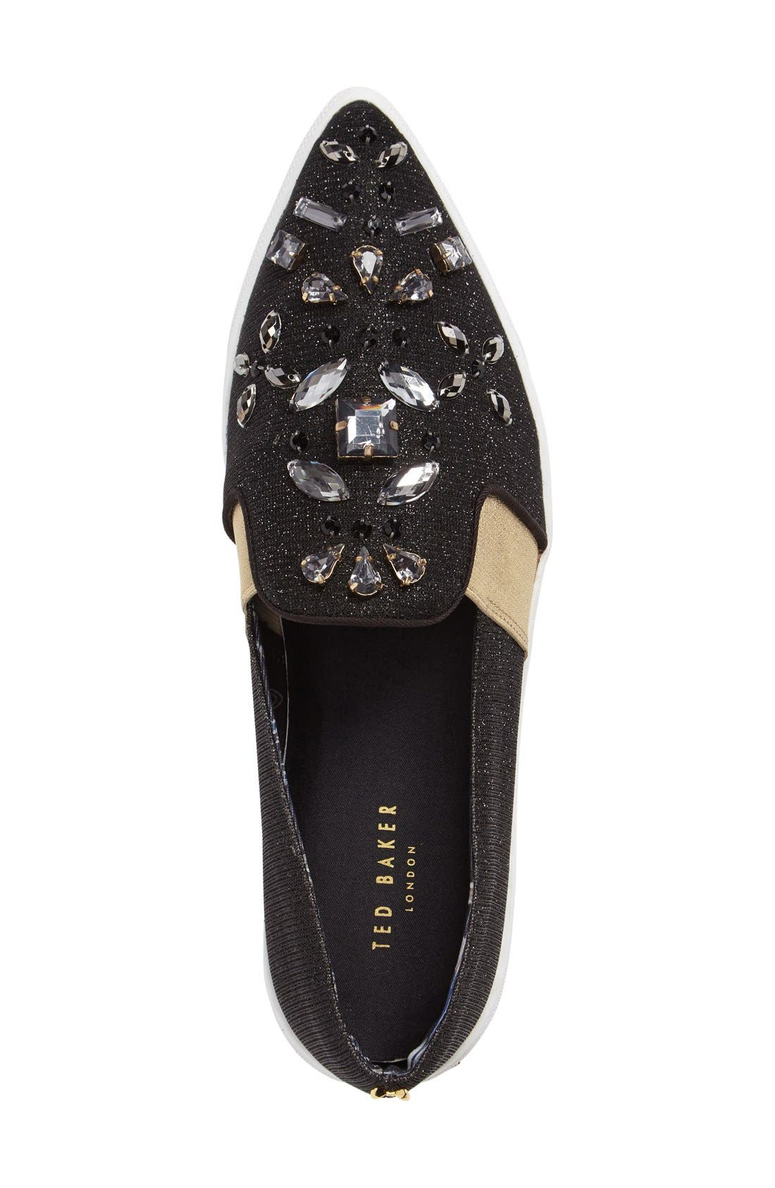 Alternate Image 2  - Ted Baker London 'Thfia' Floral Pointy Toe Slip-On Sneaker (Women)