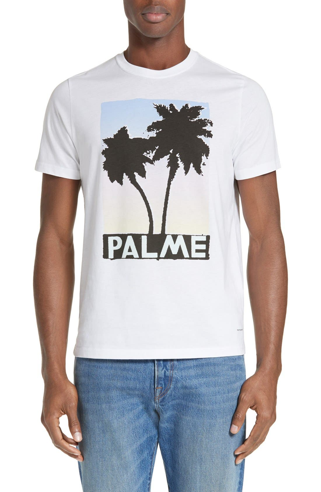 PS Paul Smith Palm Screen T-Shirt