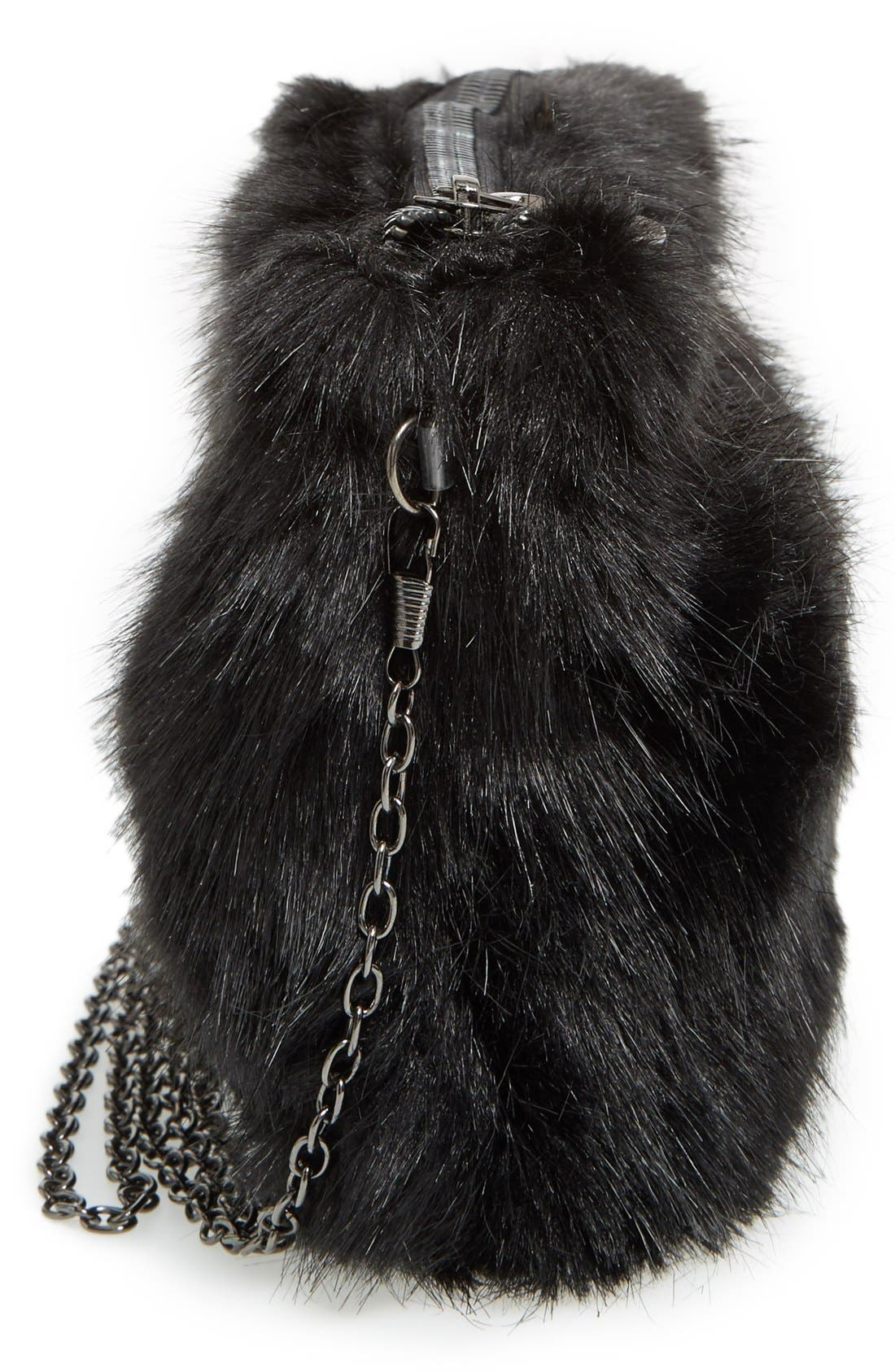 Alternate Image 5  - BP. Faux Fur Clutch