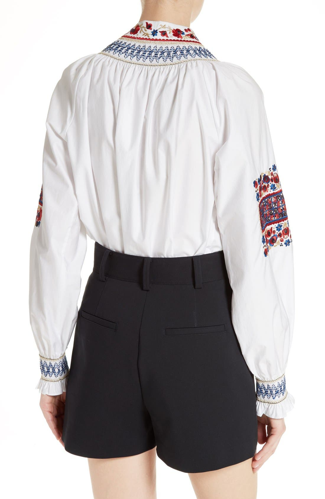 Alternate Image 3  - Tibi Cora Embroidered Top