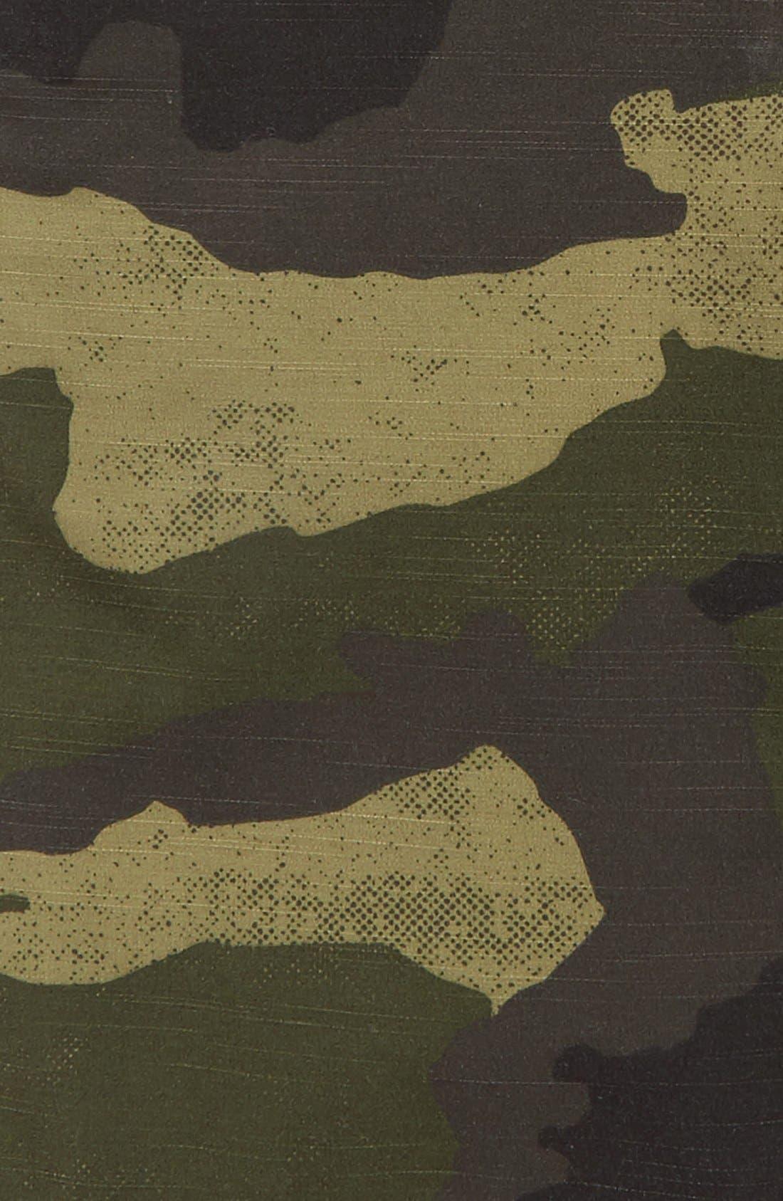 Camo Hybrid Shorts,                             Alternate thumbnail 4, color,                             Light Army