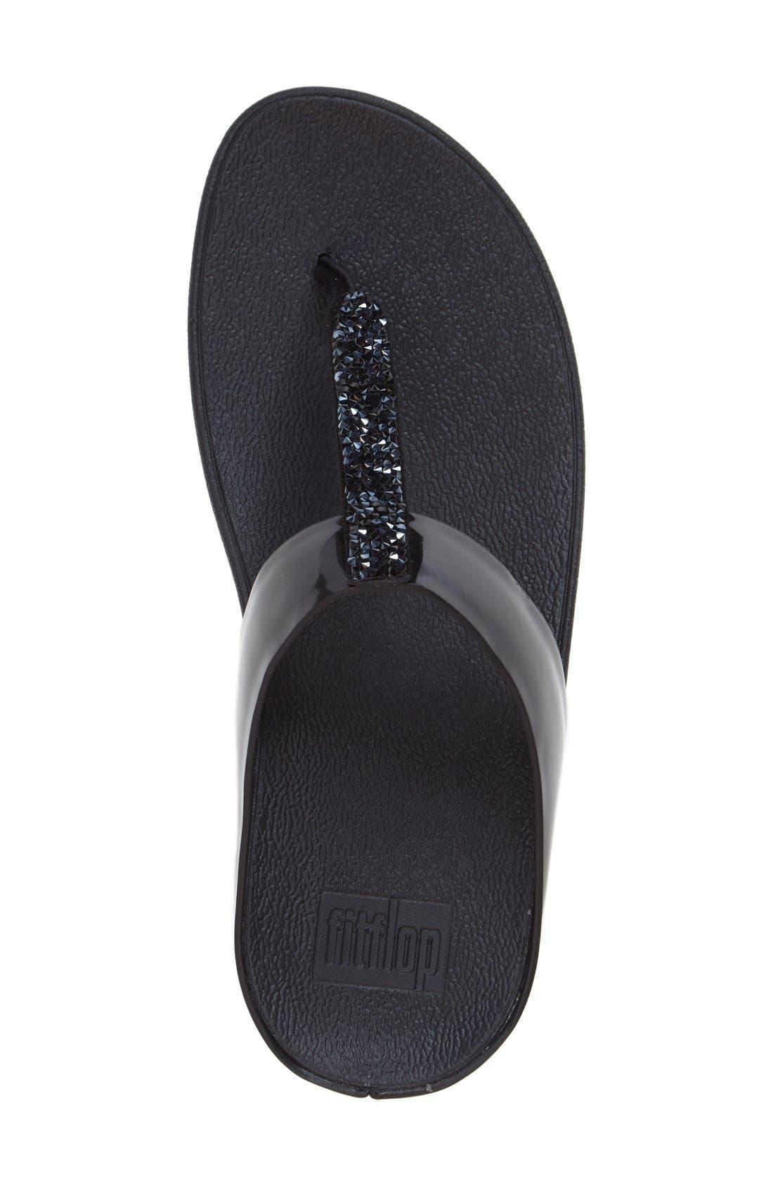 Alternate Image 3  - FitFlop™ Fino Flip Flop Sandal (Women)