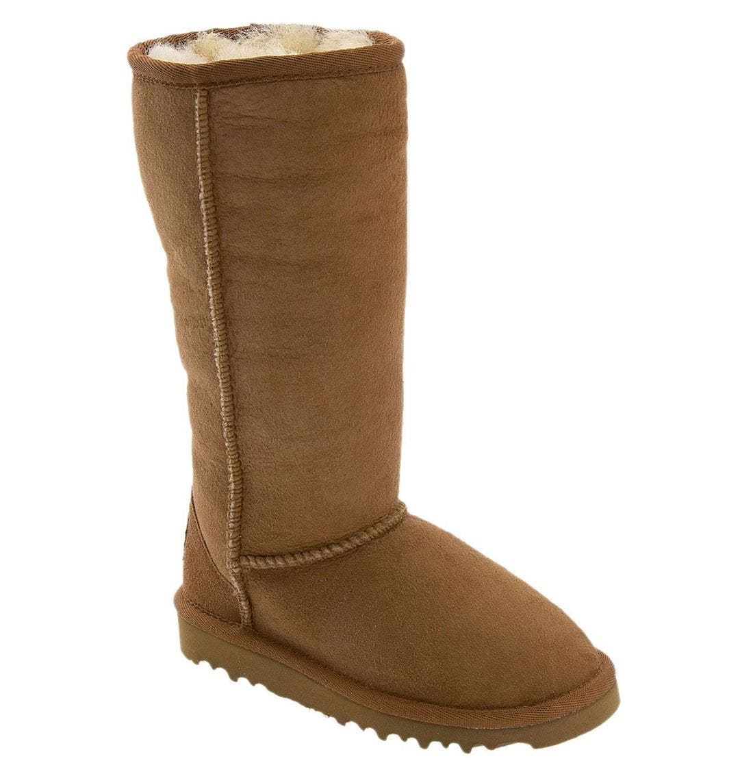 Alternate Image 1 Selected - UGG® Classic Tall Boot (Little Kid & Big Kid)