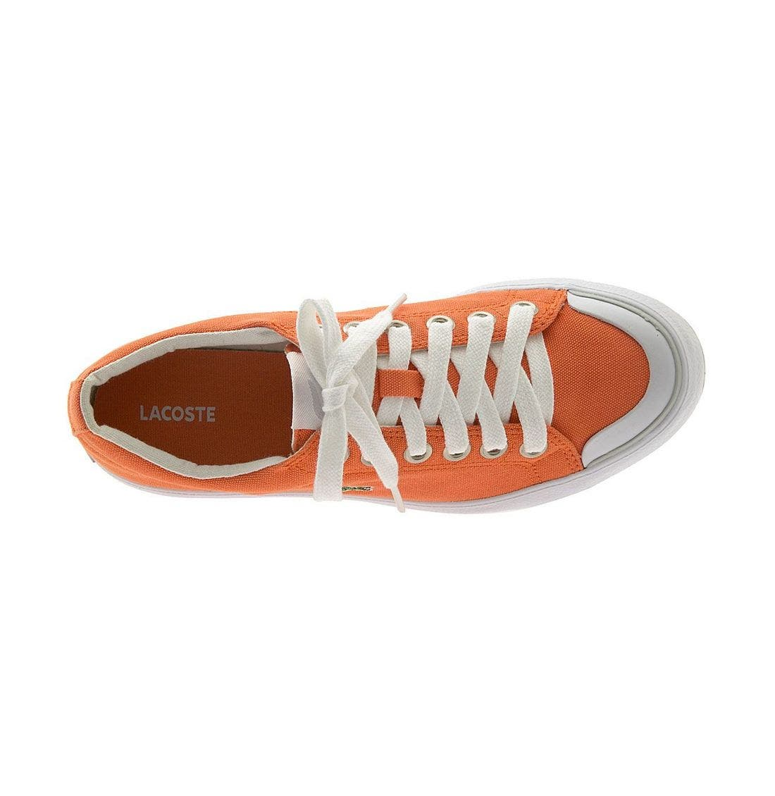 Alternate Image 3  - Lacoste 'L33 Canvas' Sneaker (Women)