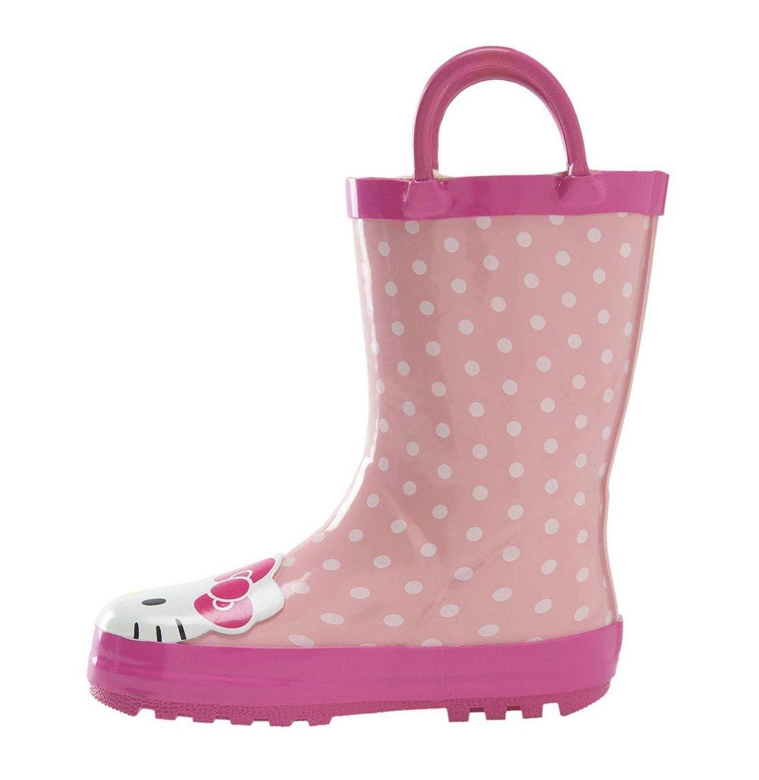 Alternate Image 2  - Western Chief 'Hello Kitty®' Rain Boot (Walker, Toddler, Little Kid & Big Kid)