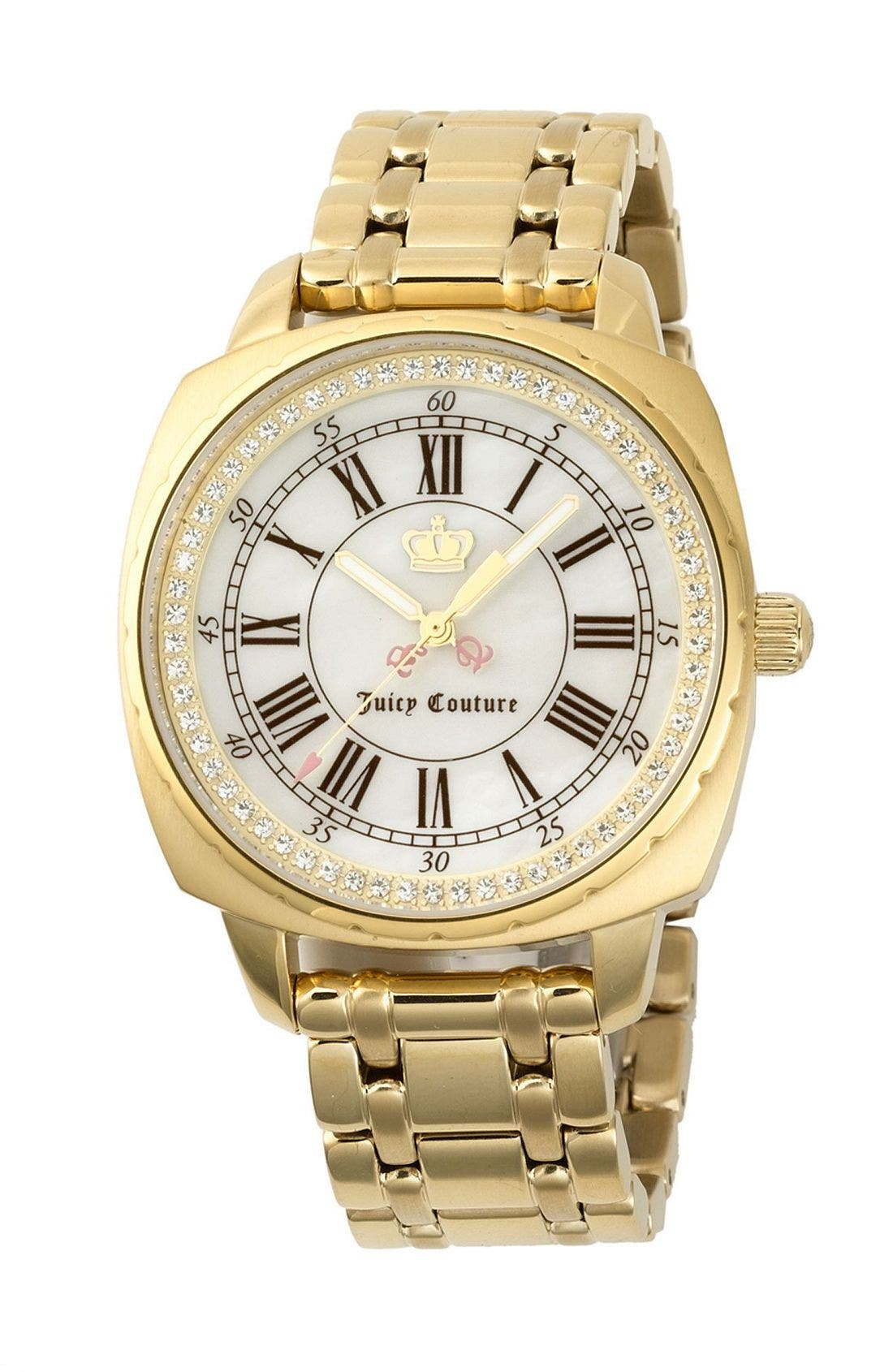 Alternate Image 1 Selected - Juicy Couture 'The Beau' Boyfriend Watch