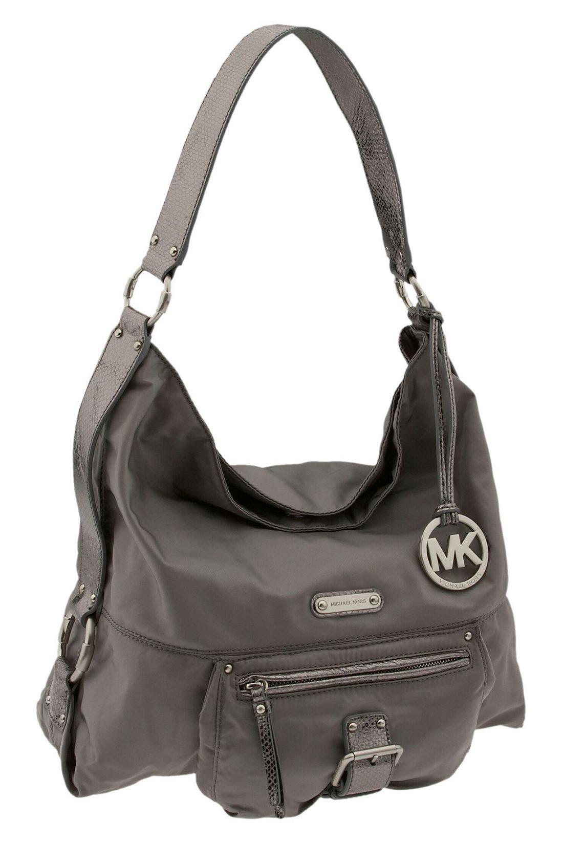 Alternate Image 1 Selected - MICHAEL Michael Kors 'Austin Nylon - Large' Shoulder Bag