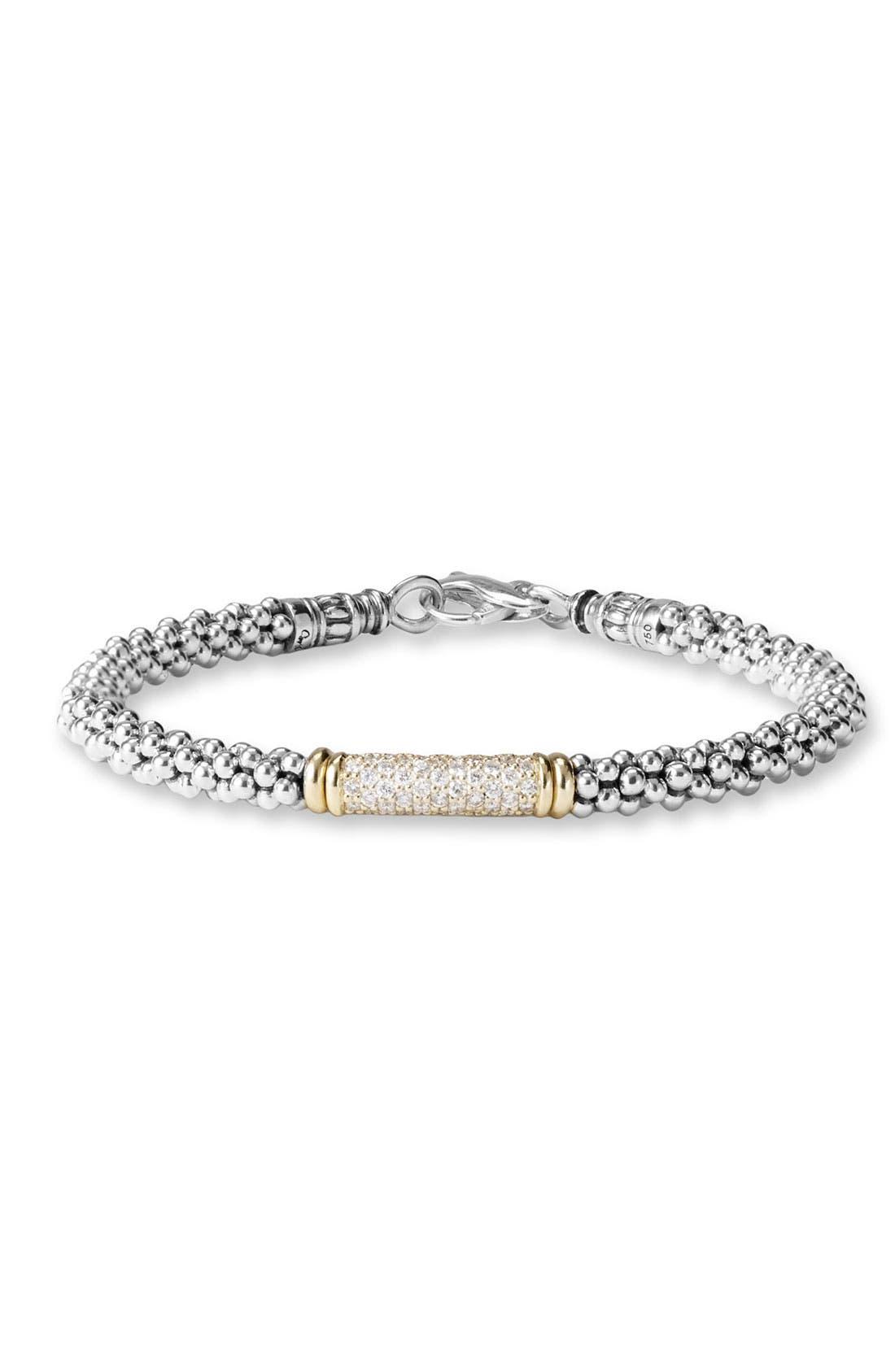 Alternate Image 1 Selected - LAGOS Caviar Rope Bracelet
