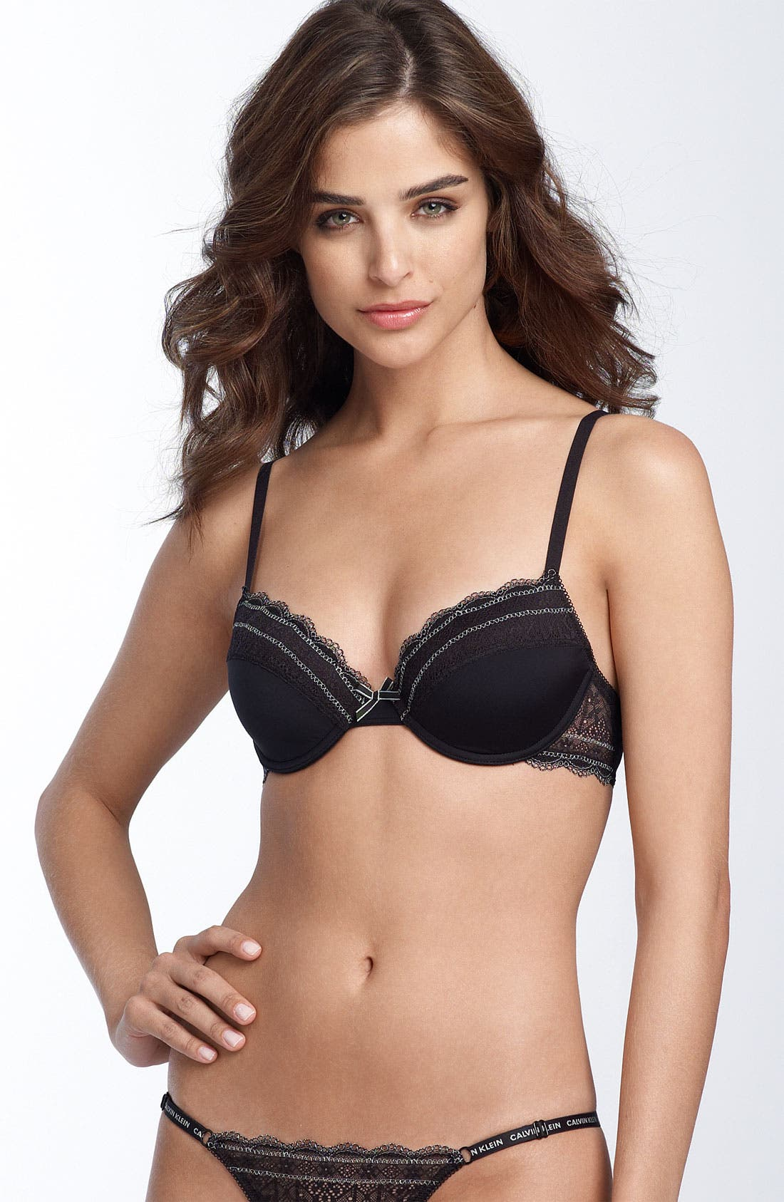 Alternate Image 1 Selected - Calvin Klein 'Pretty' Contour Underwire Bra