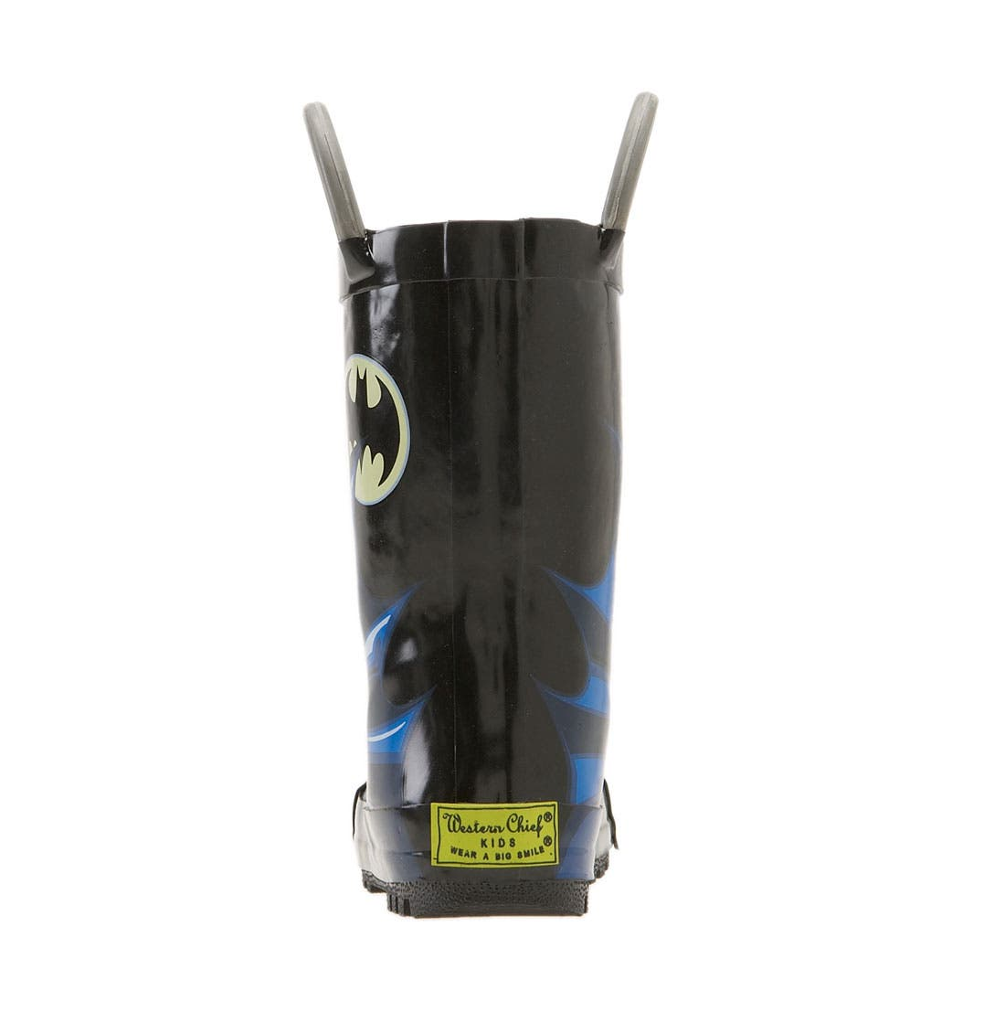 Alternate Image 4  - Western Chief 'Batman' Rain Boot (Walker, Toddler, Little Kid & Big Kid)