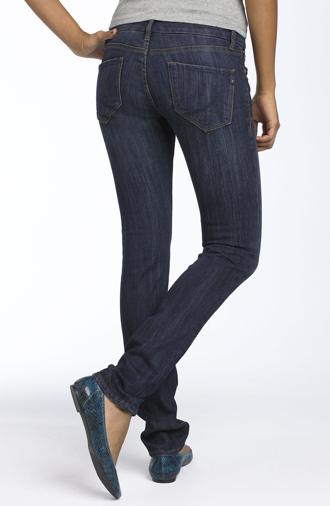 !iT JEANS 'Rising Starlet' Skinny Stretch Jeans,                         Main,                         color, Blue River