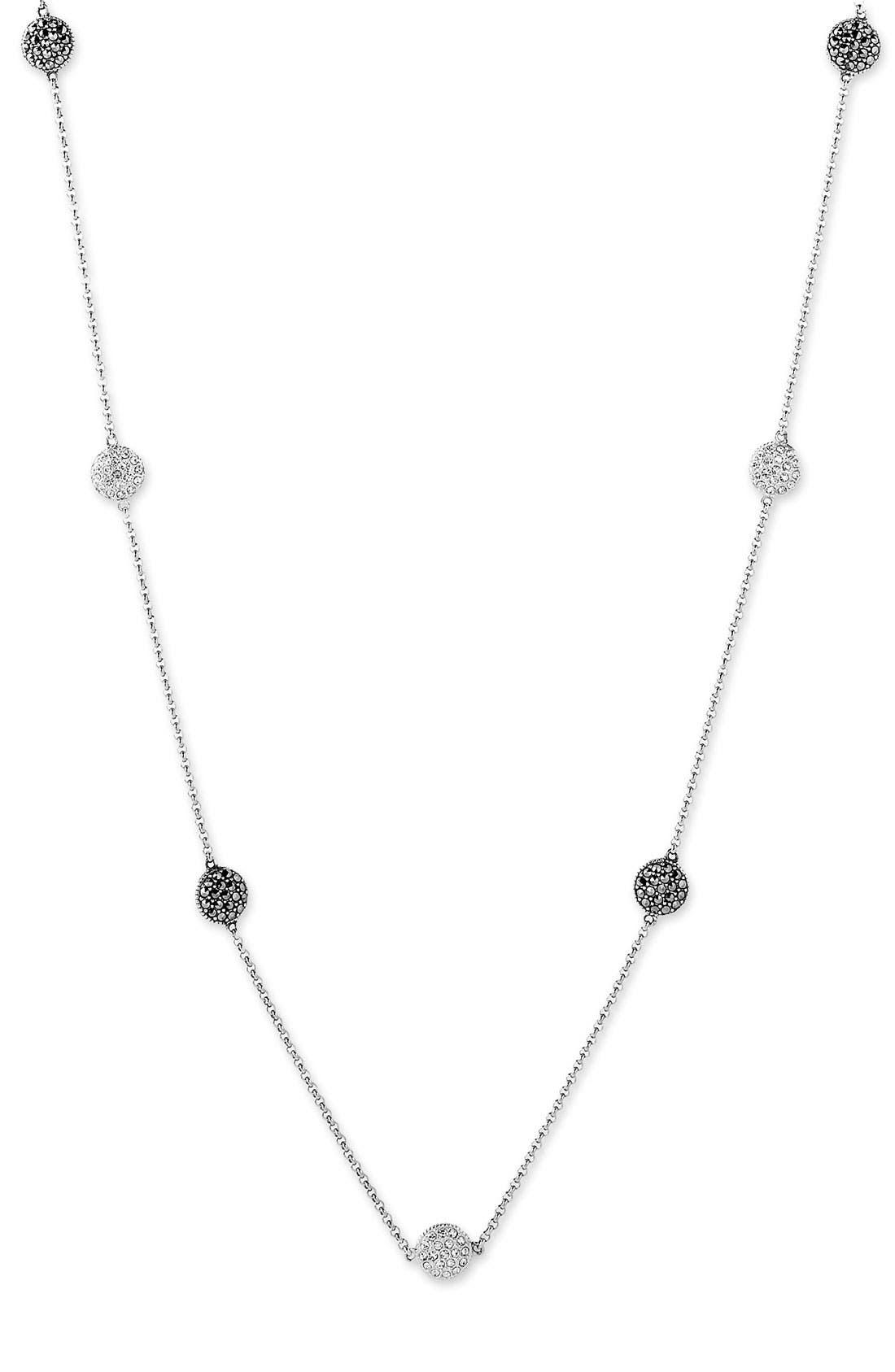 Alternate Image 2  - Judith Jack Long Station Necklace
