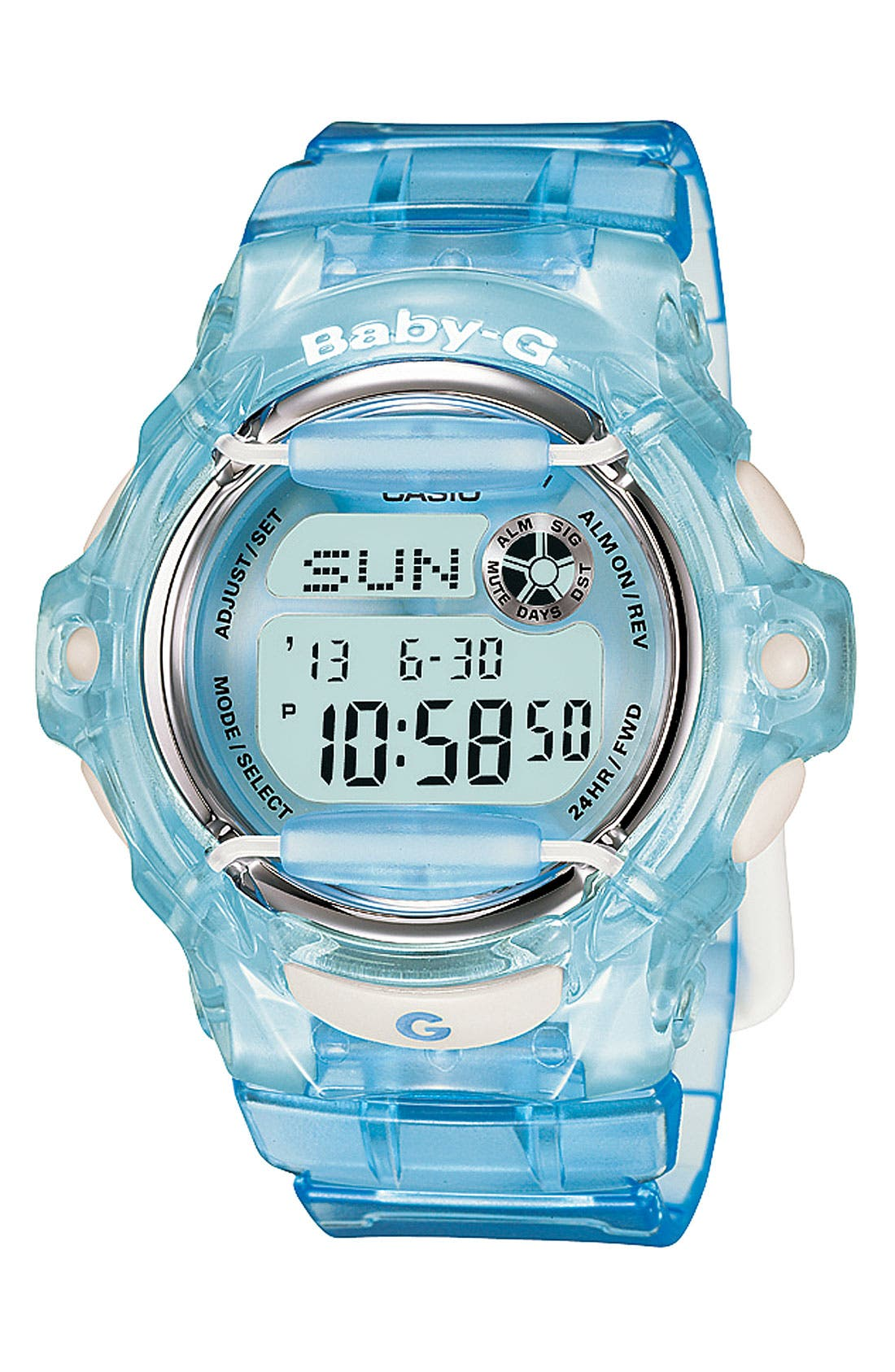 Alternate Image 1 Selected - Baby-G Jelly Watch, 46mm