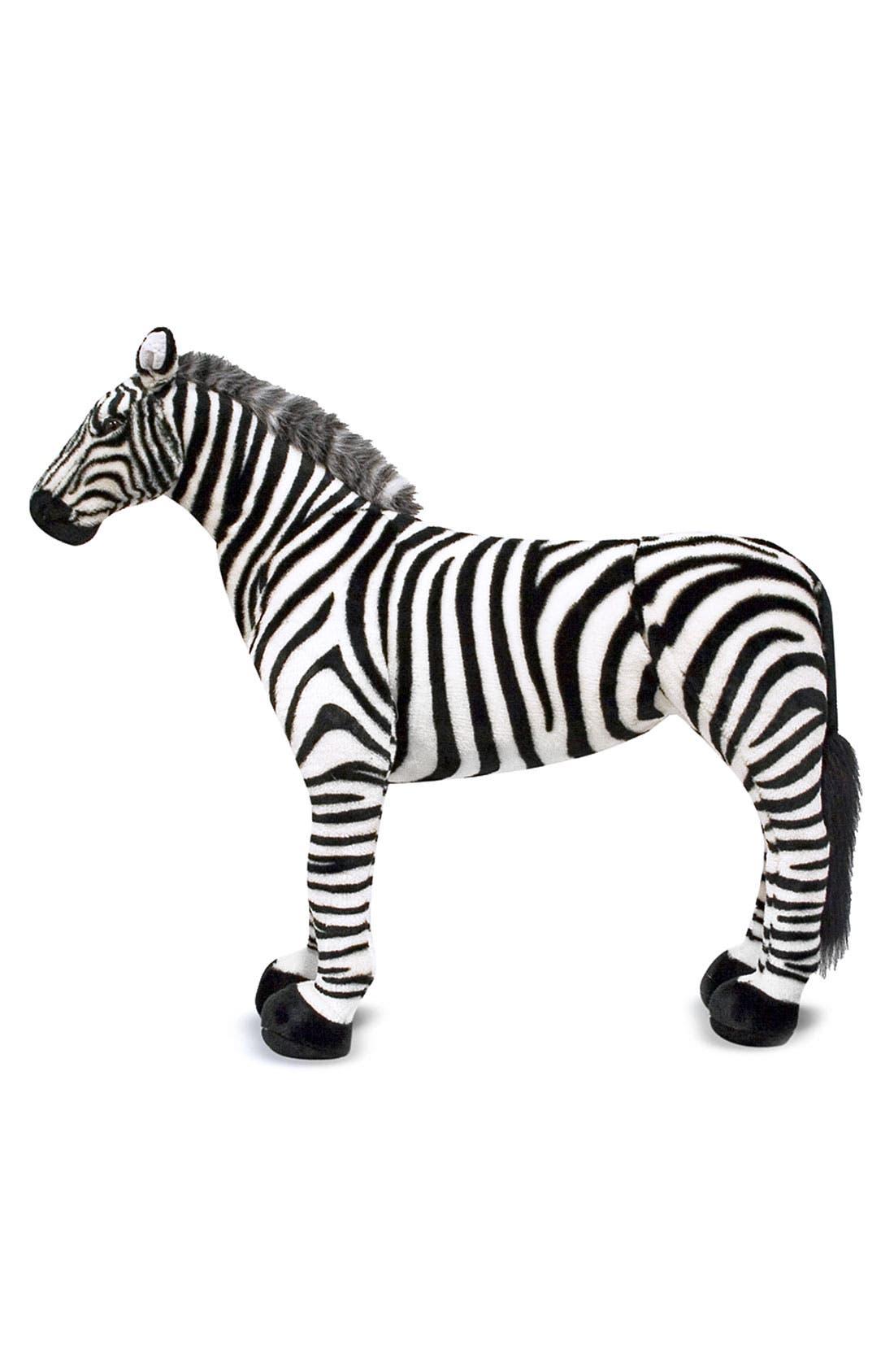 Alternate Image 2  - Melissa & Doug Oversized Zebra
