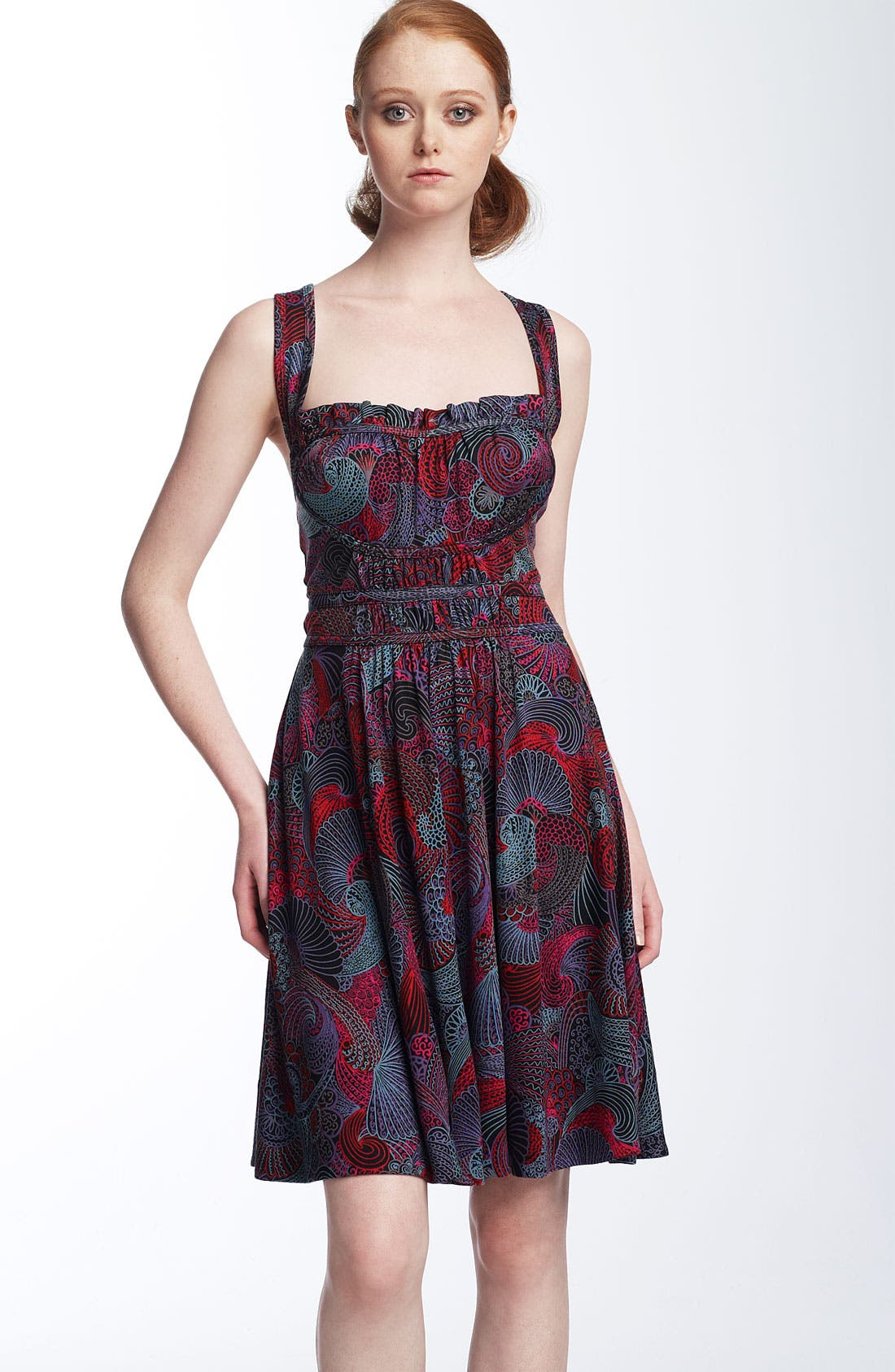 Main Image - MARC BY MARC JACOBS 'Circus Paisley' Print Jersey Dress