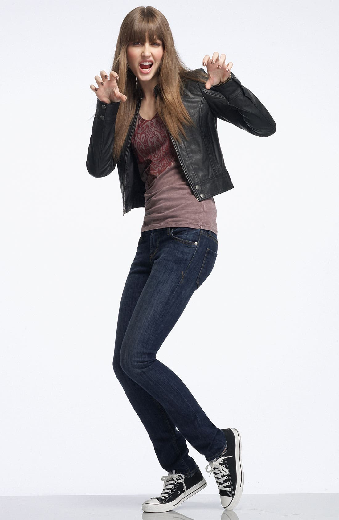 Alternate Image 3  - !iT JEANS 'Rising Starlet' Skinny Stretch Jeans (Juniors)