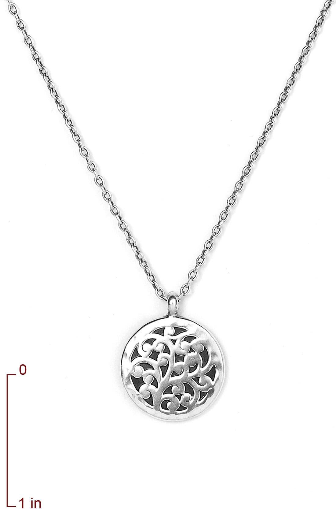 Alternate Image 2  - Lois Hill Reversible Pendant Necklace