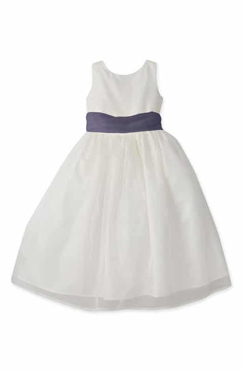 3744d00a91 Us Angels Sleeveless Organza Dress (Toddler Girls