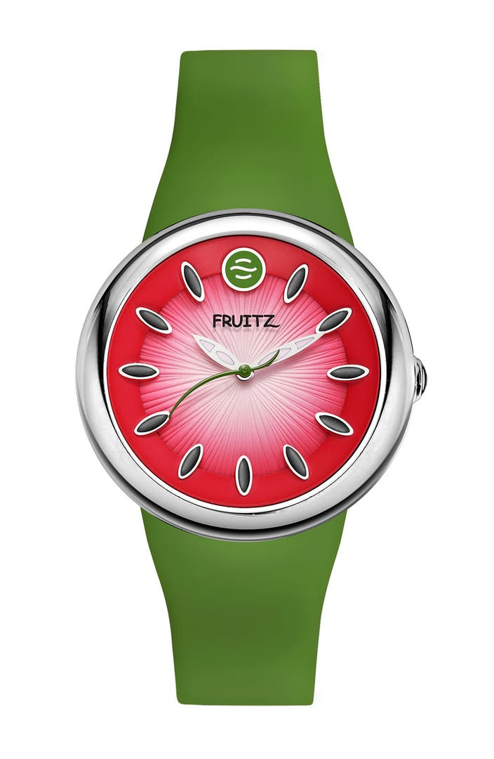 Fruitz 'Watermelon' Natural Frequency Watch | Nordstrom