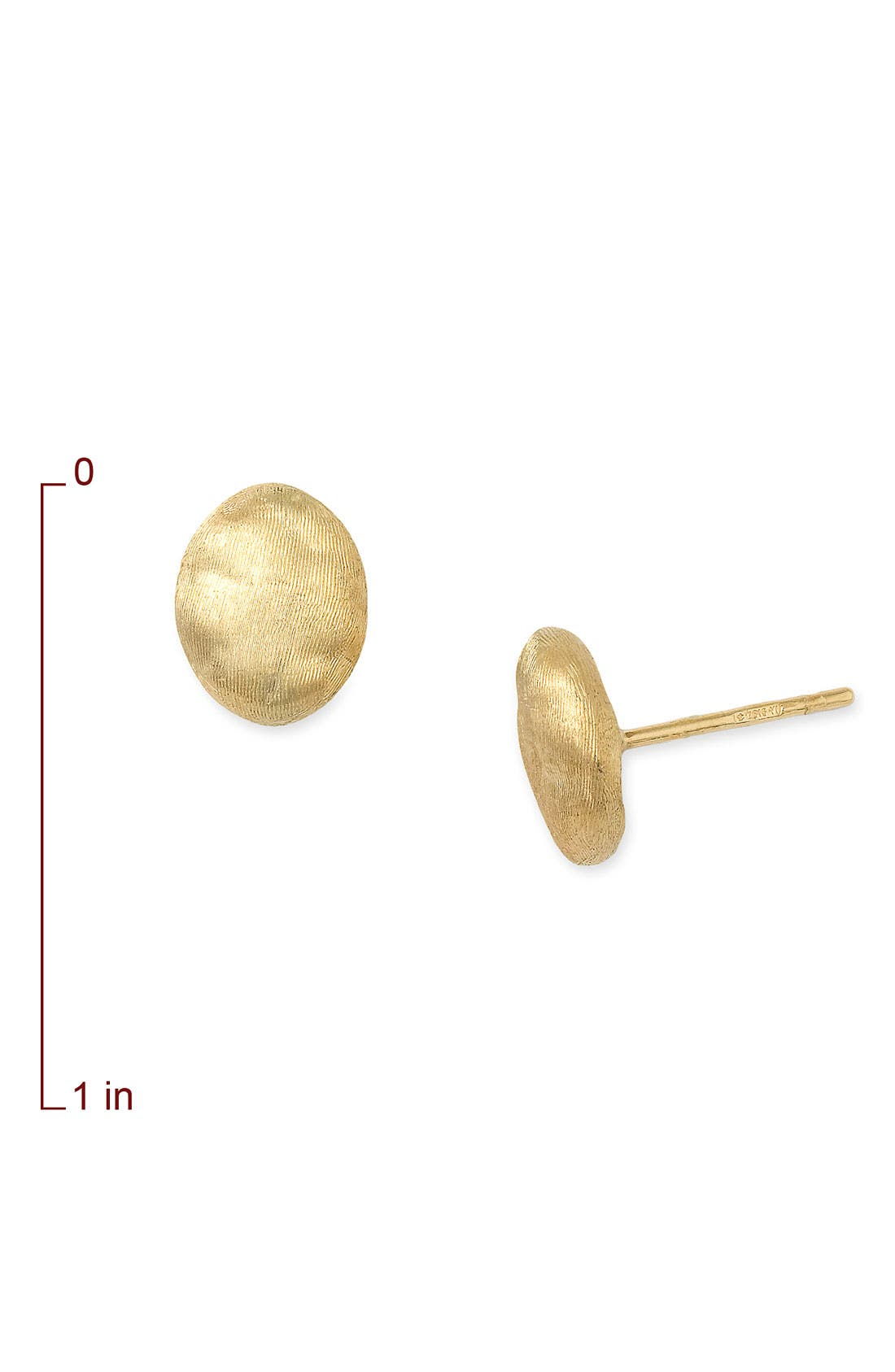 Alternate Image 2  - Marco Bicego 'Siviglia' Stud Earrings