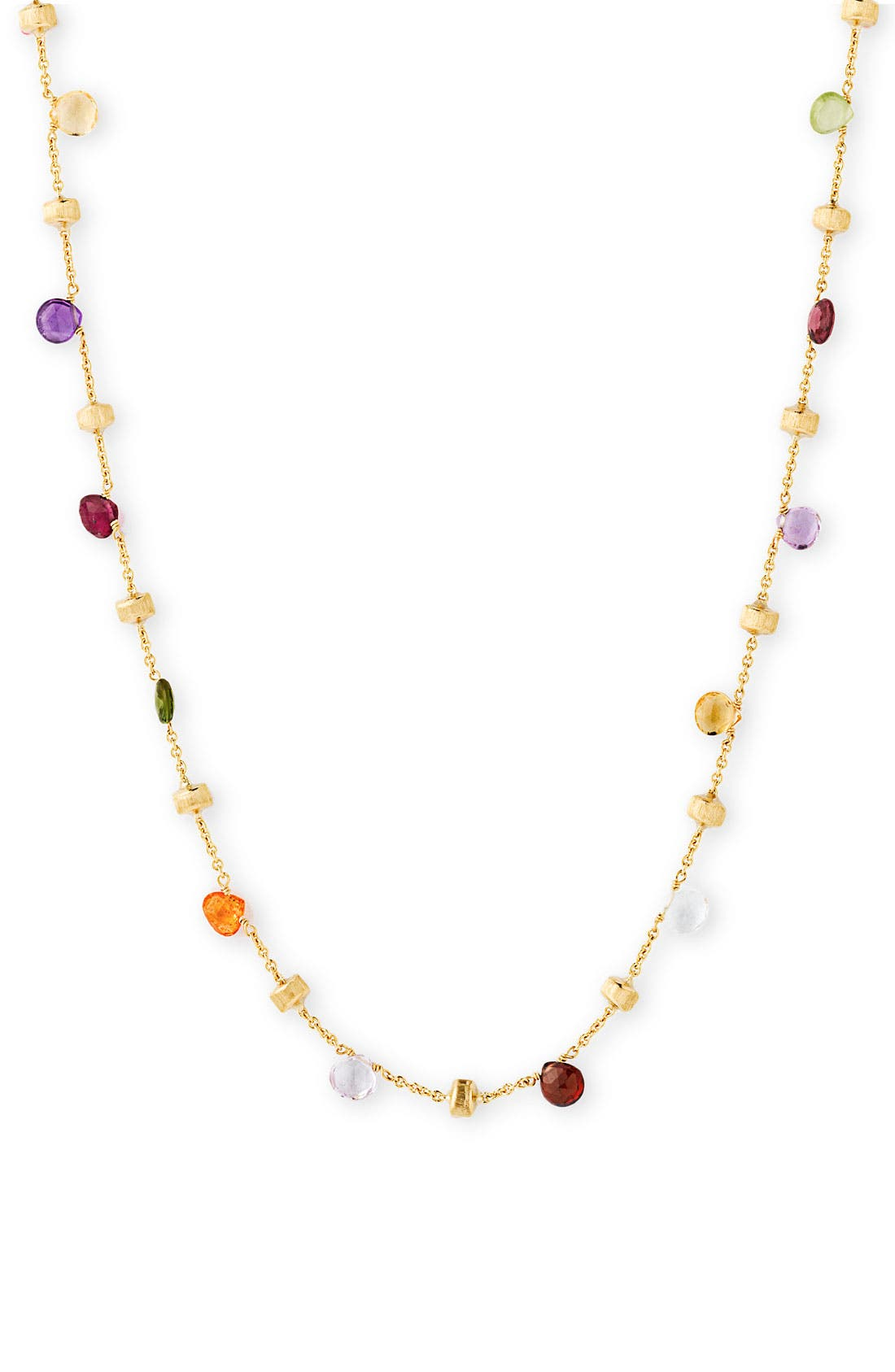 Alternate Image 1 Selected - Marco Bicego 'Paradise' Single Strand Semiprecious Necklace
