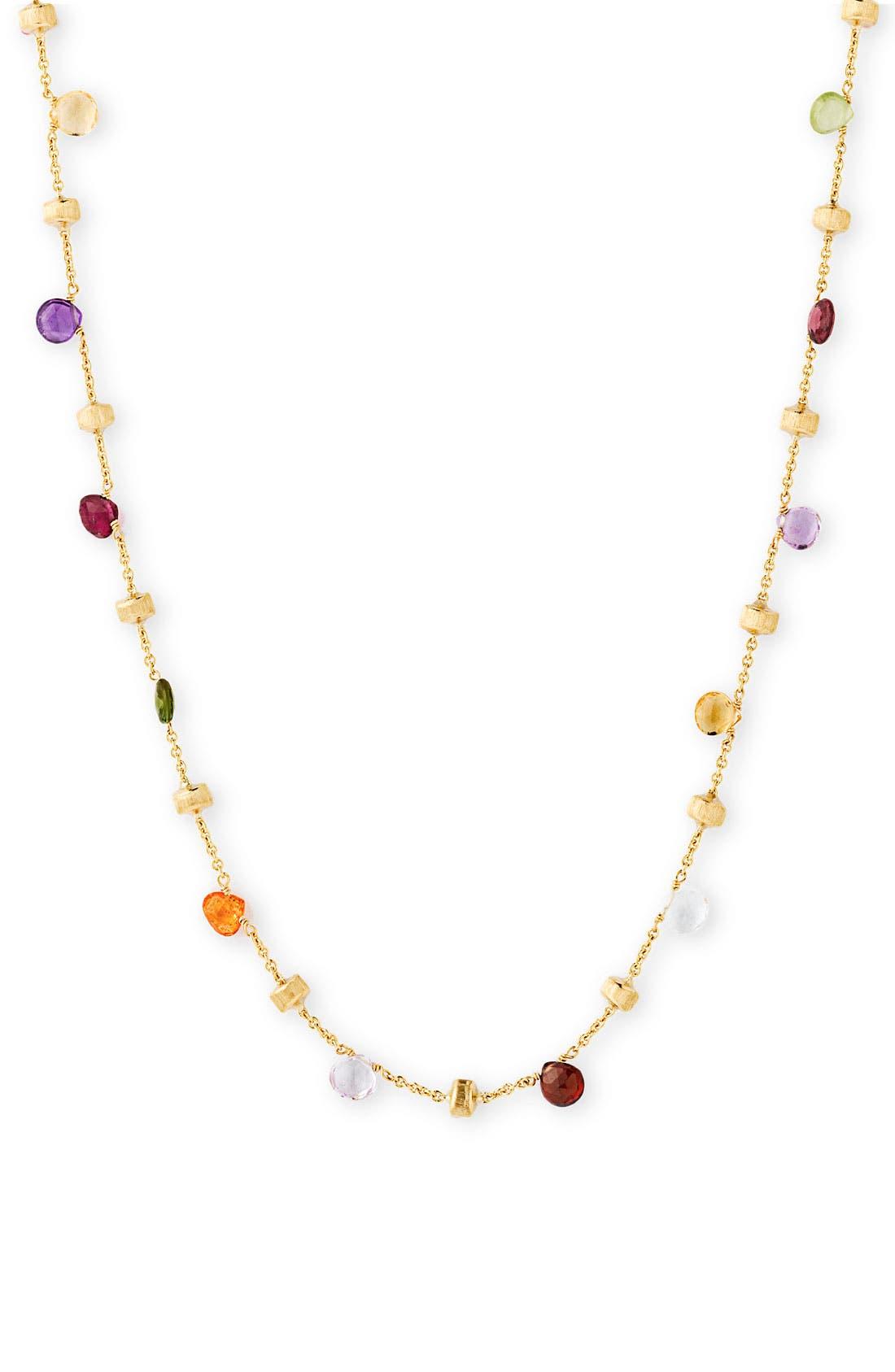 Main Image - Marco Bicego 'Paradise' Single Strand Semiprecious Necklace