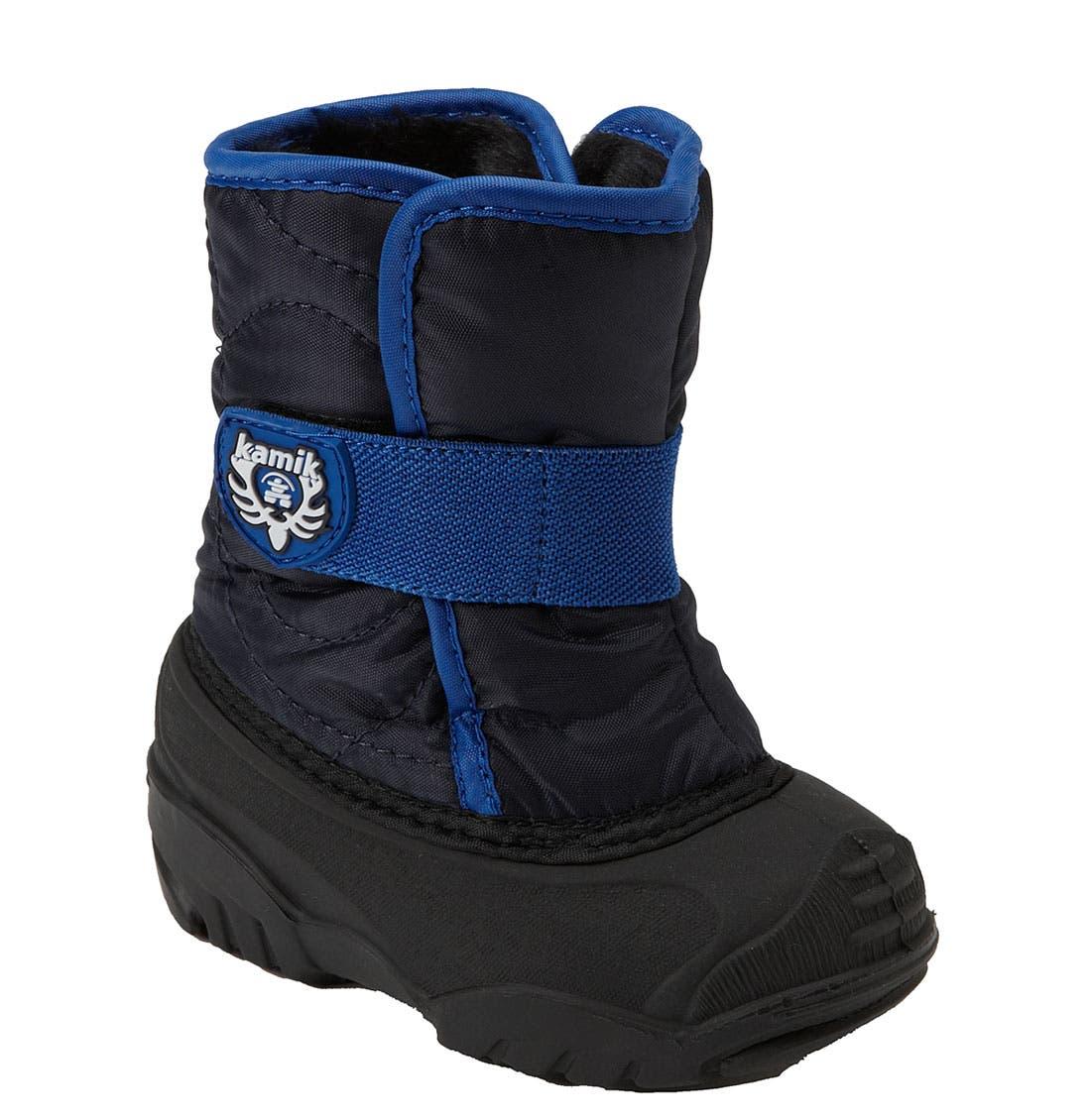 Main Image - Kamik 'Snowbug' Waterproof Boot (Walker & Toddler)