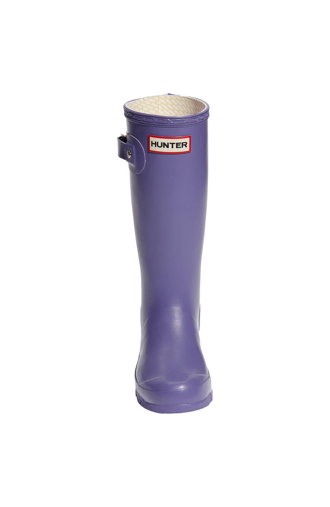 Alternate Image 4  - Hunter Original Rain Boot (Little Kid)