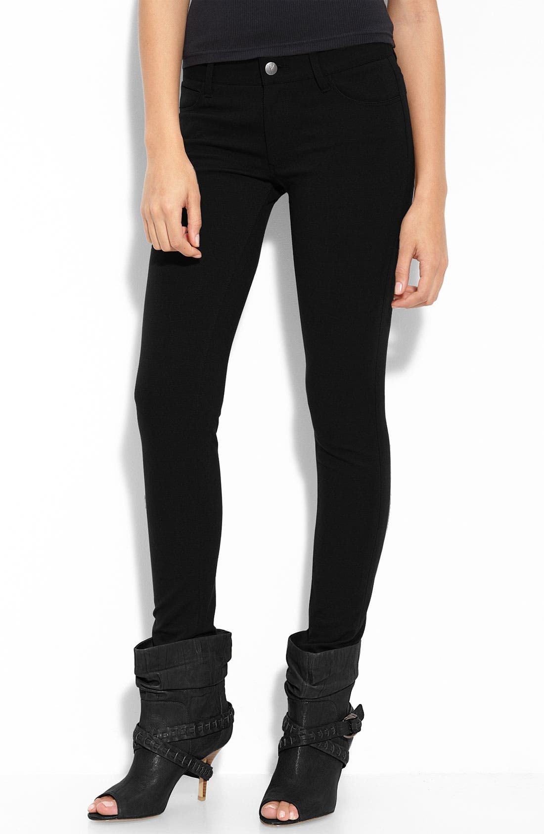 Alternate Image 1 Selected - Paige Denim Ponte Knit Leggings