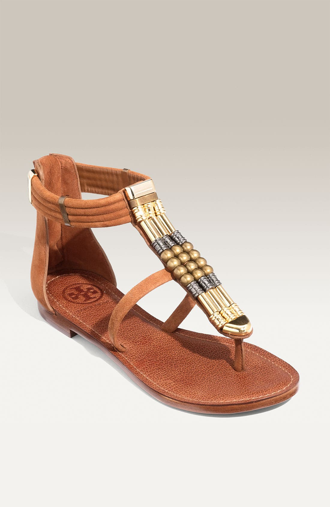 Main Image - Tory Burch 'Jennifer' Beaded Sandal