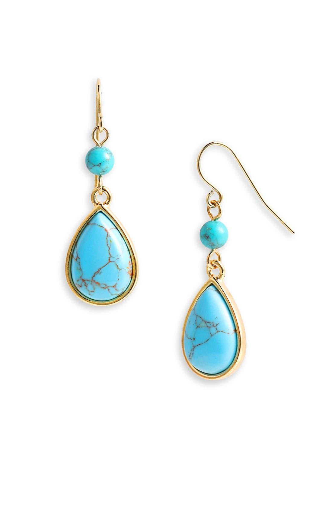 Main Image - Lauren by Ralph Lauren 'Nassau' Small Drop Earrings