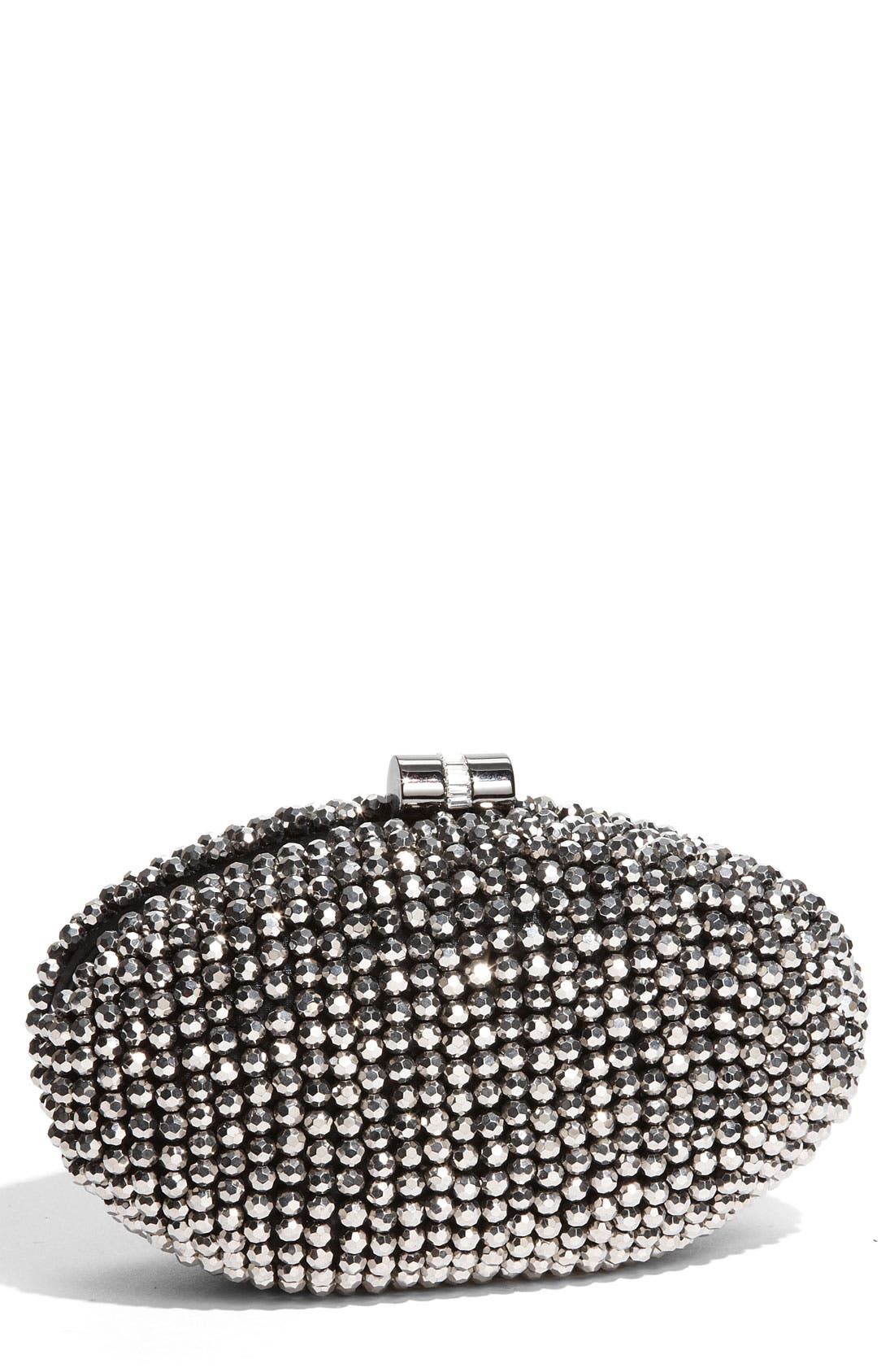 Main Image - Sondra Roberts Beaded Minaudiere Box Clutch