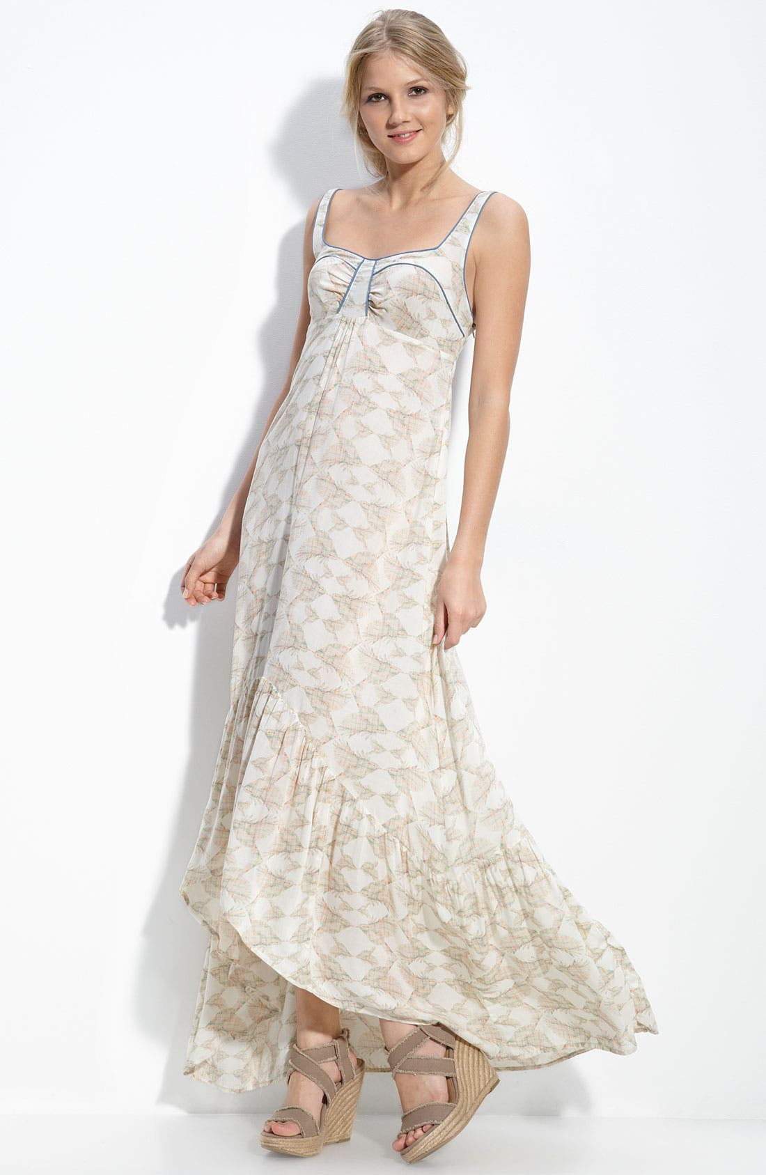 Alternate Image 1 Selected - Free People Voile Maxi Dress