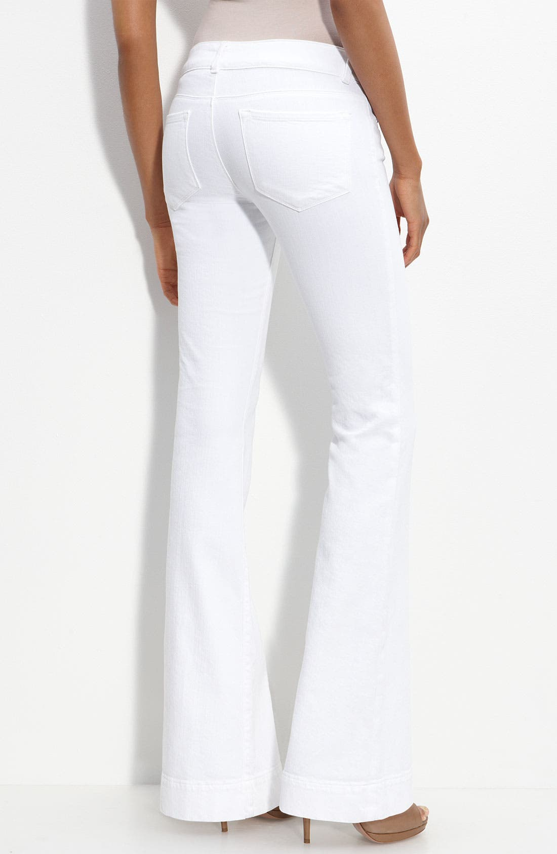 Alternate Image 1 Selected - J Brand 'Love Story' Flare Leg Stretch Jeans