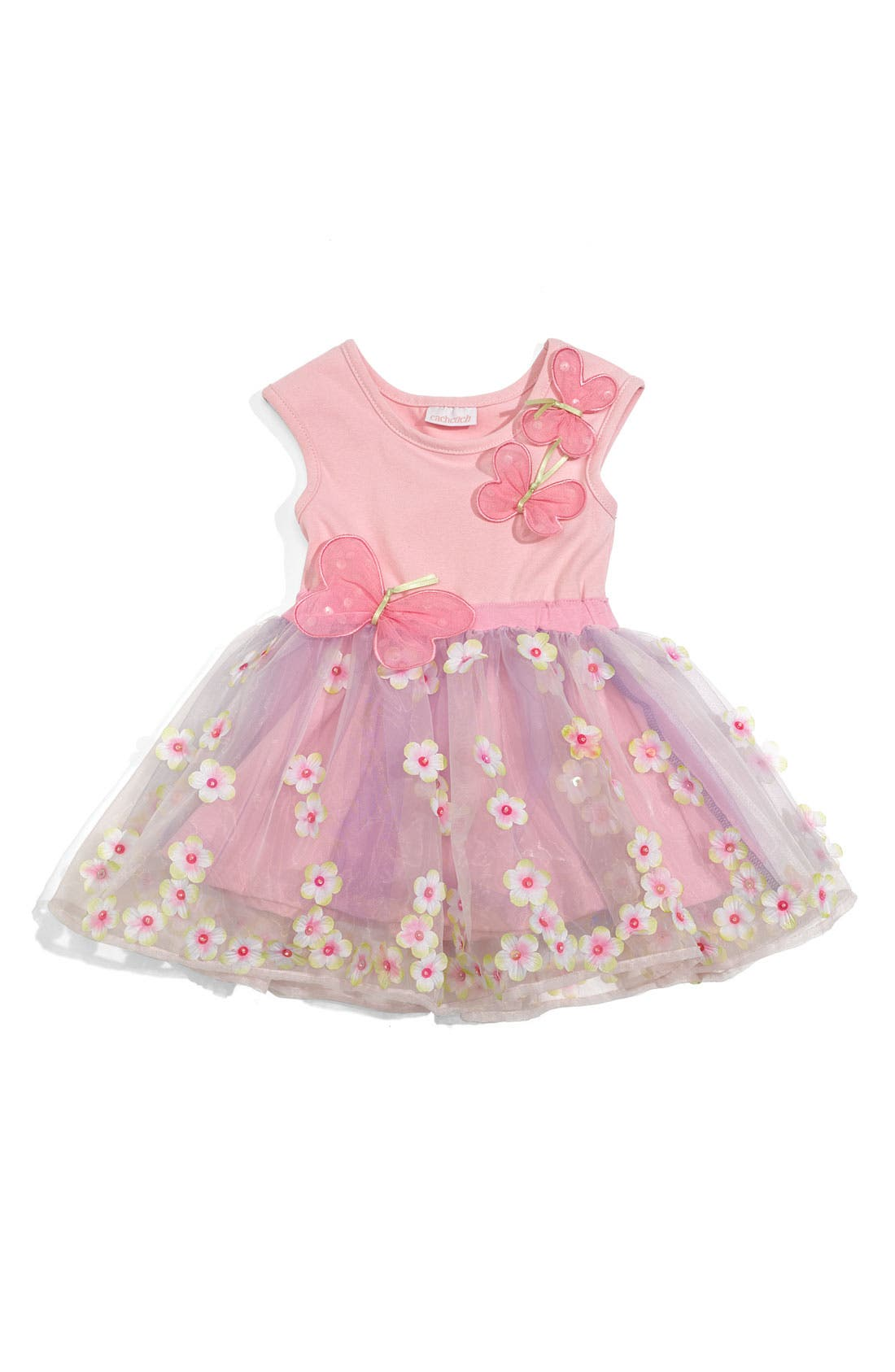 Main Image - CachCach 'Butterfly' Dress (Toddler)