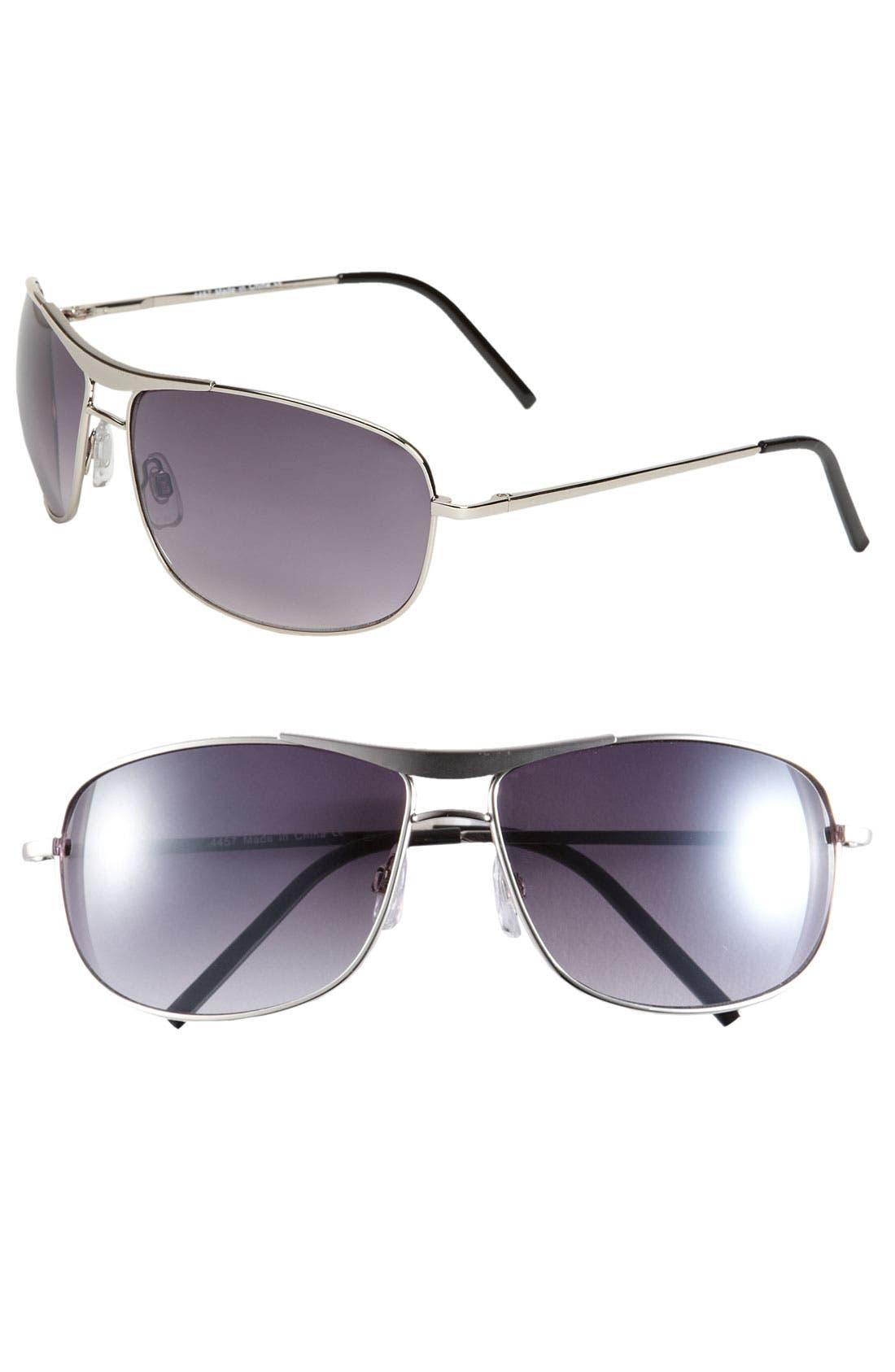 Alternate Image 1 Selected - KW 'Clint' 67mm Aviator Sunglasses