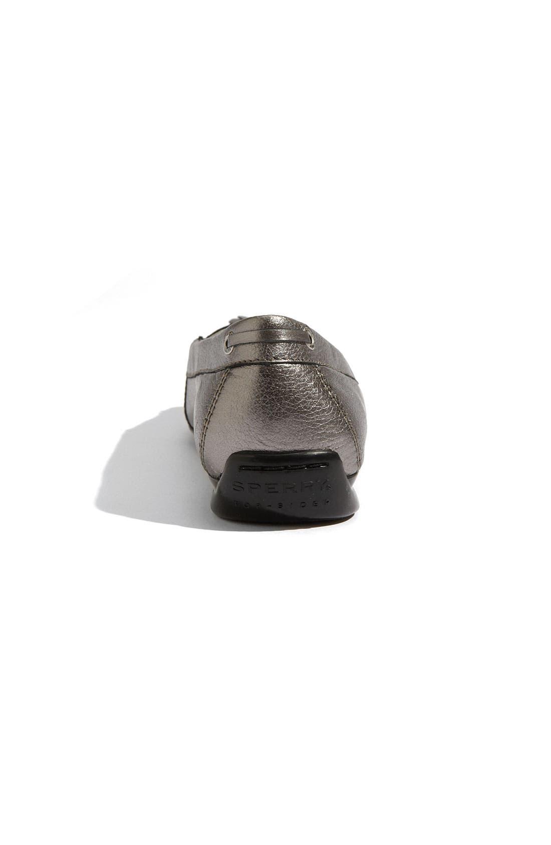 Alternate Image 4  - Sperry Top-Sider® 'Brantpoint' Metallic Loafer