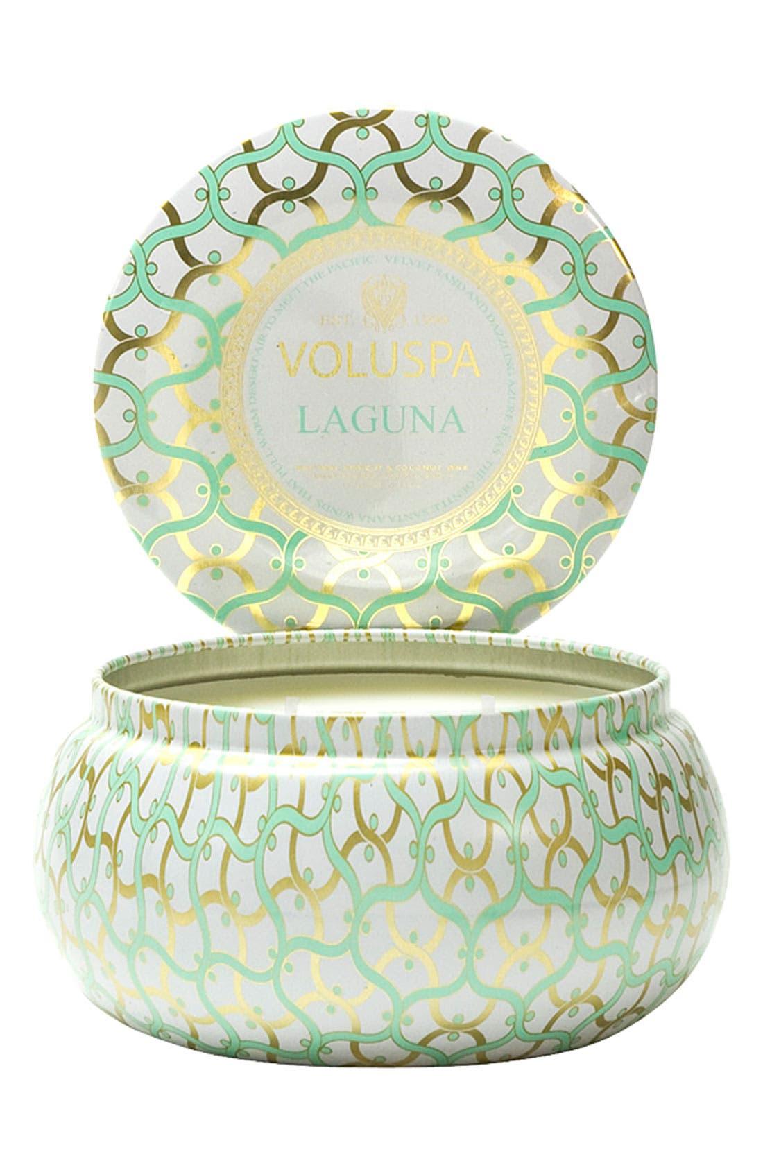 Main Image - Voluspa 'Maison Blanc - Laguna' 2-Wick Candle