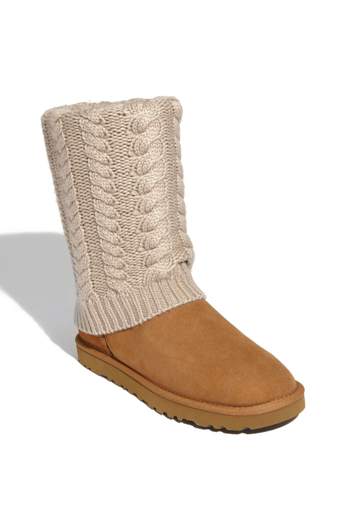 Alternate Image 1 Selected - UGG® Australia 'Tularosa Route Detachable' Boot with Removable Knit Overlay (Women)