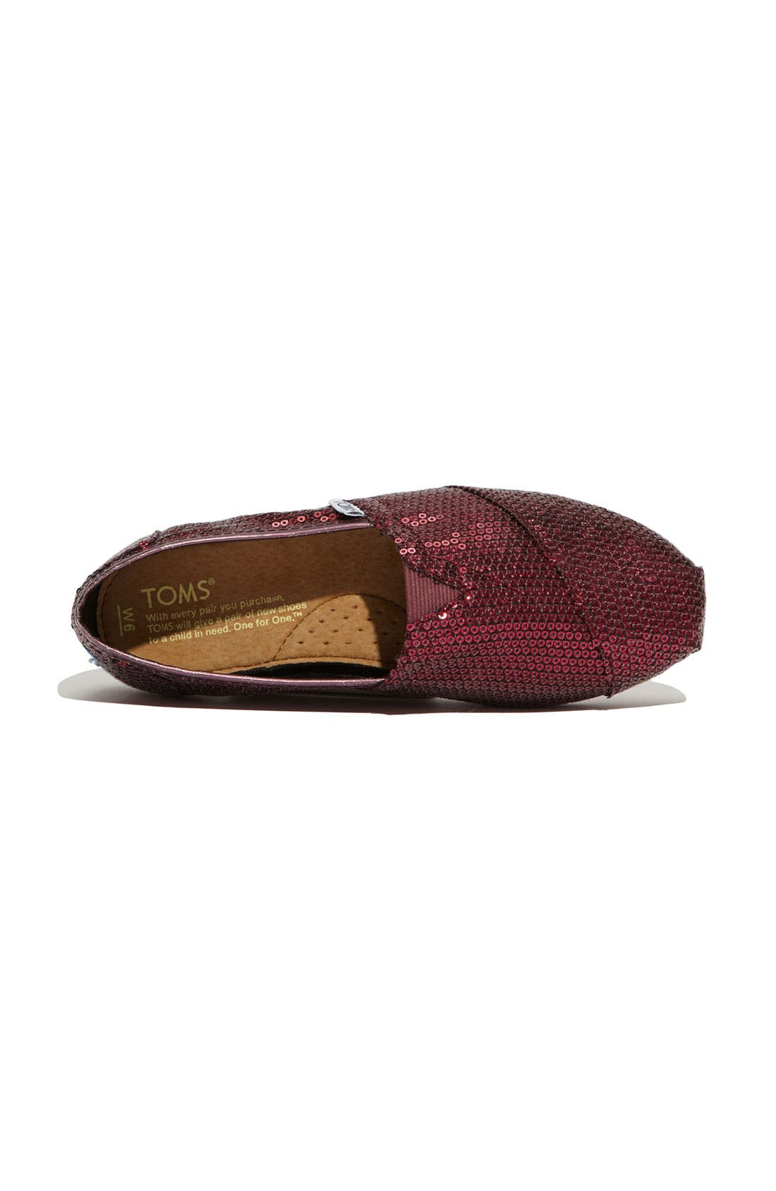 Alternate Image 2  - TOMS 'Classic - Sequins' Slip-On (Women) (Nordstrom Exclusive)