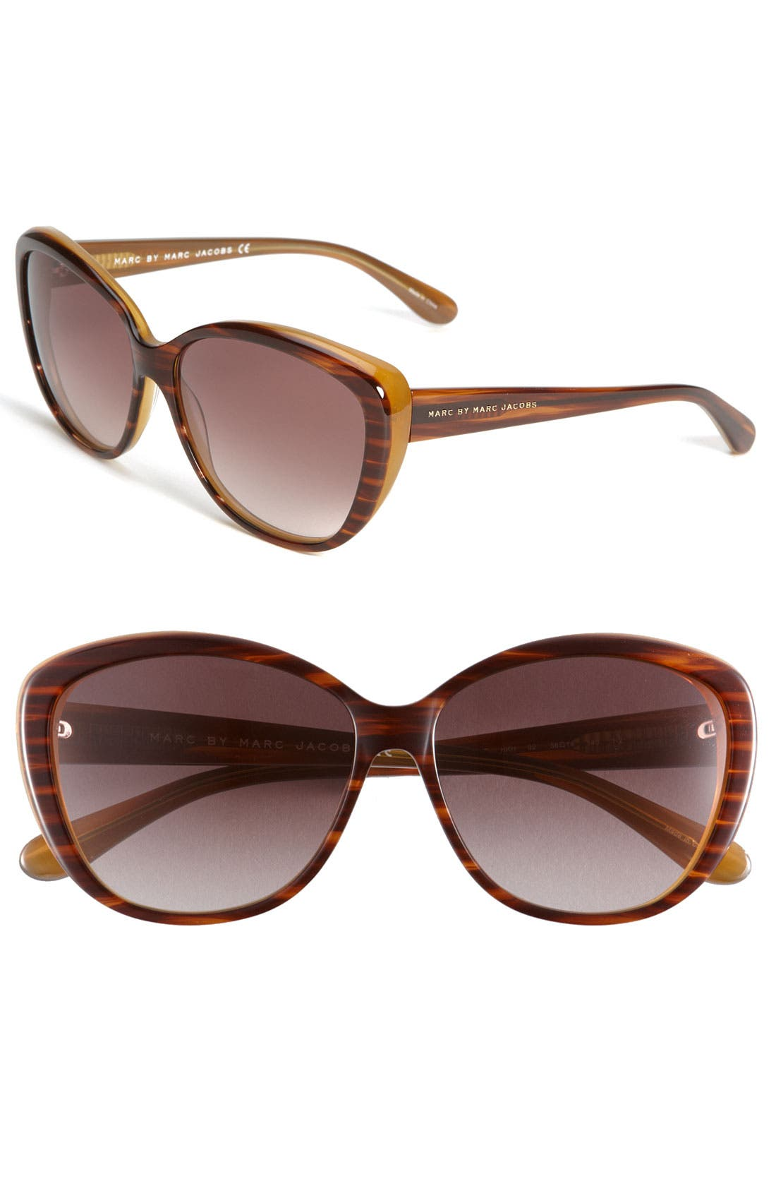 Alternate Image 1 Selected - MARC BY MARC JACOBS Cat's Eye Sunglasses