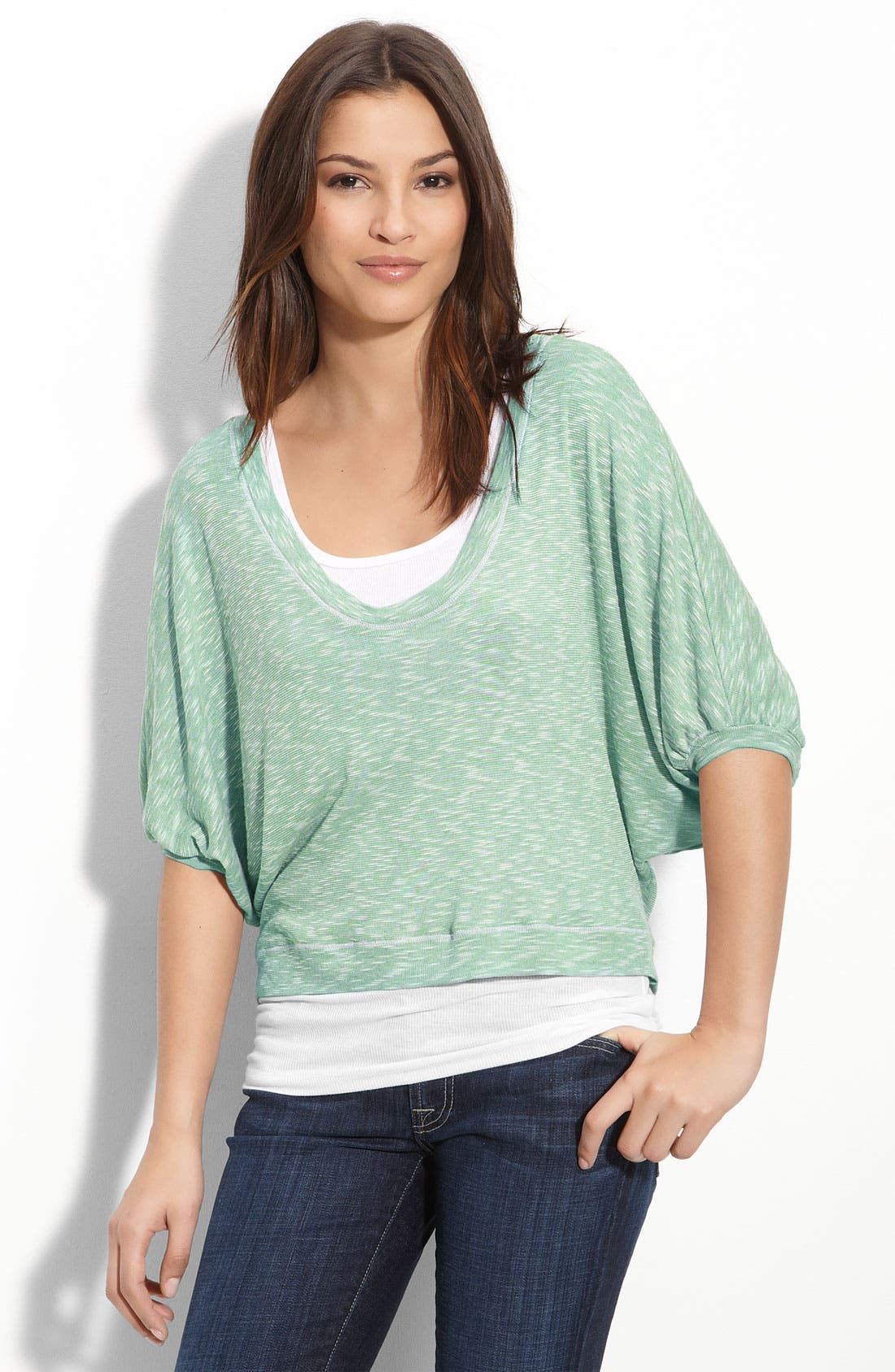 Alternate Image 1 Selected - Splendid Slub Knit Top