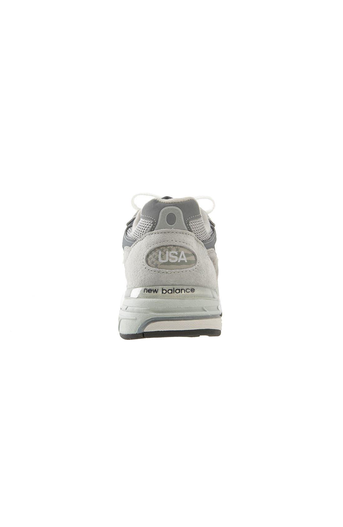 '993' Running Shoe,                             Alternate thumbnail 3, color,                             Grey