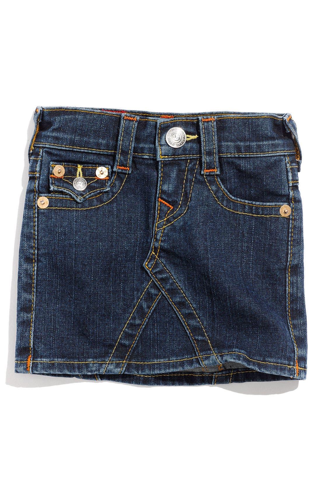 Alternate Image 2  - True Religion Brand Jeans 'Joey' Skirt (Toddler)