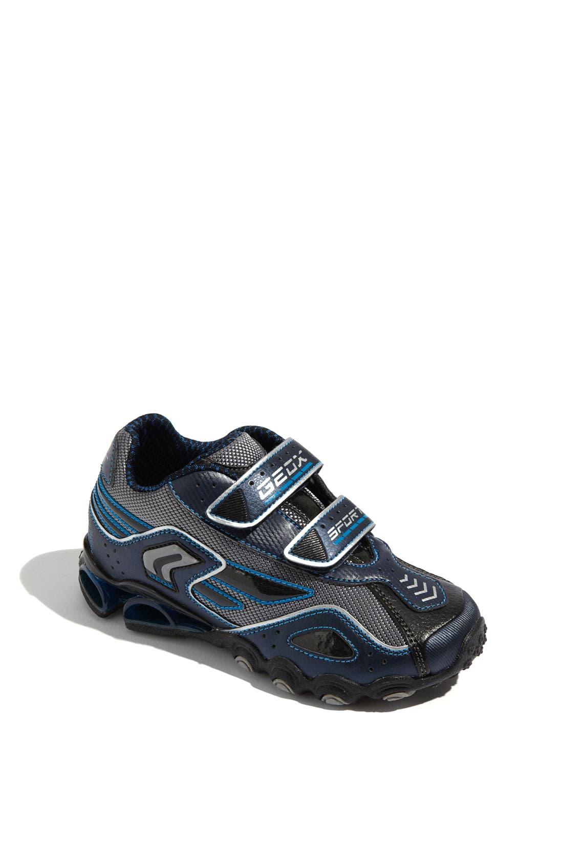 Alternate Image 1 Selected - Geox 'Tornado 10' Sneaker (Toddler, Little Kid & Big Kid)