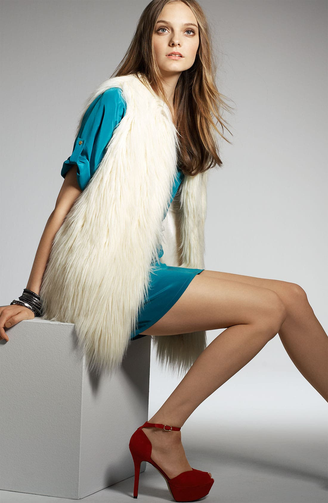 Alternate Image 3  - Hawke & Co. Faux Fur Vest (Nordstrom Exclusive)