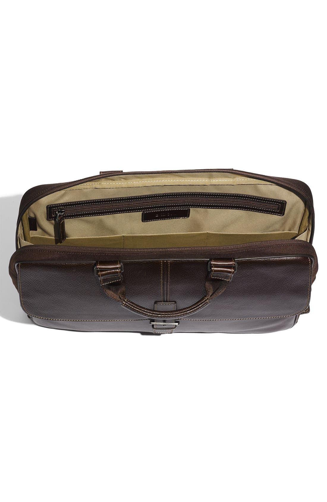 Alternate Image 2  - Boconi 'Tyler' Tumbled Leather Portfolio Briefcase