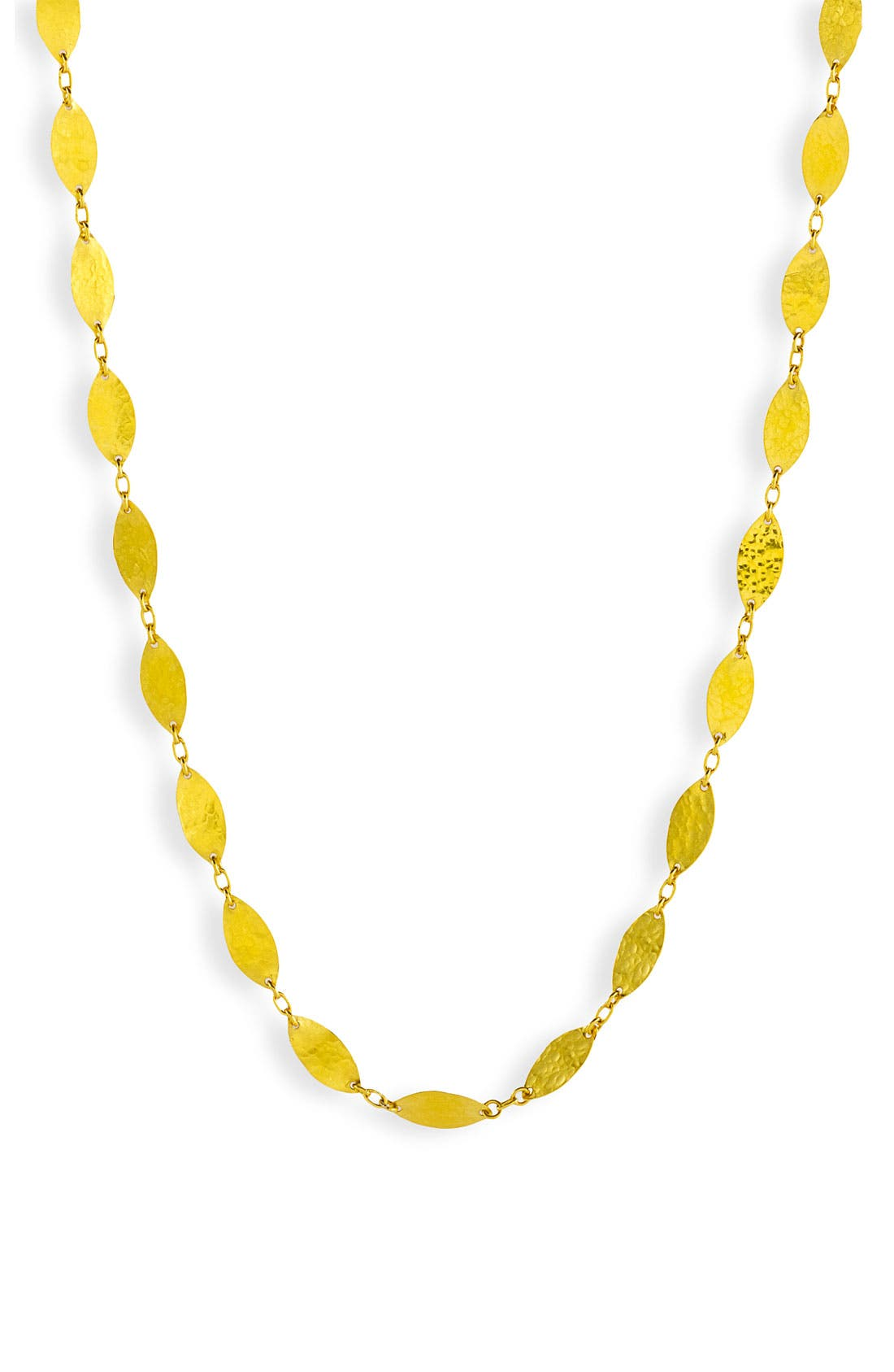 Alternate Image 2  - Gurhan 'Willow' Extra Long Leaf Necklace